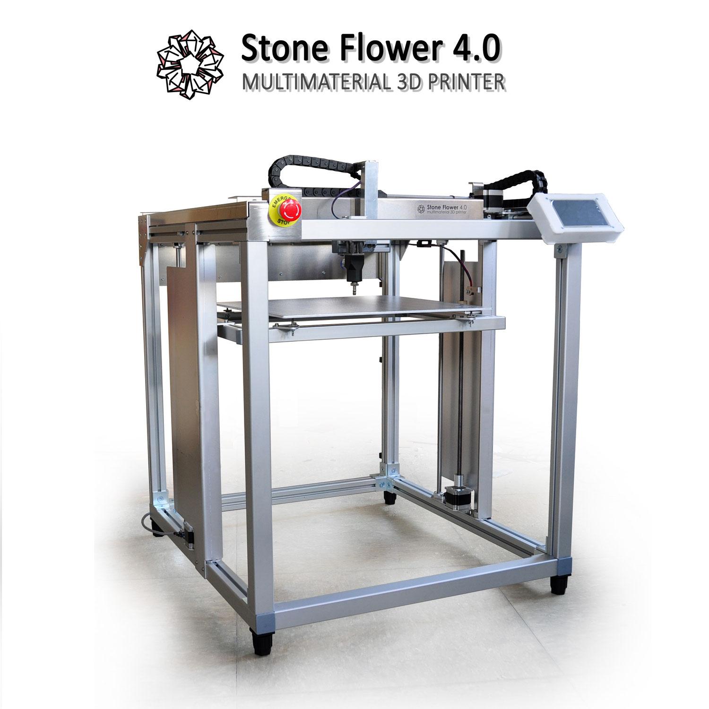 StoneFlower 4.0 3D printer