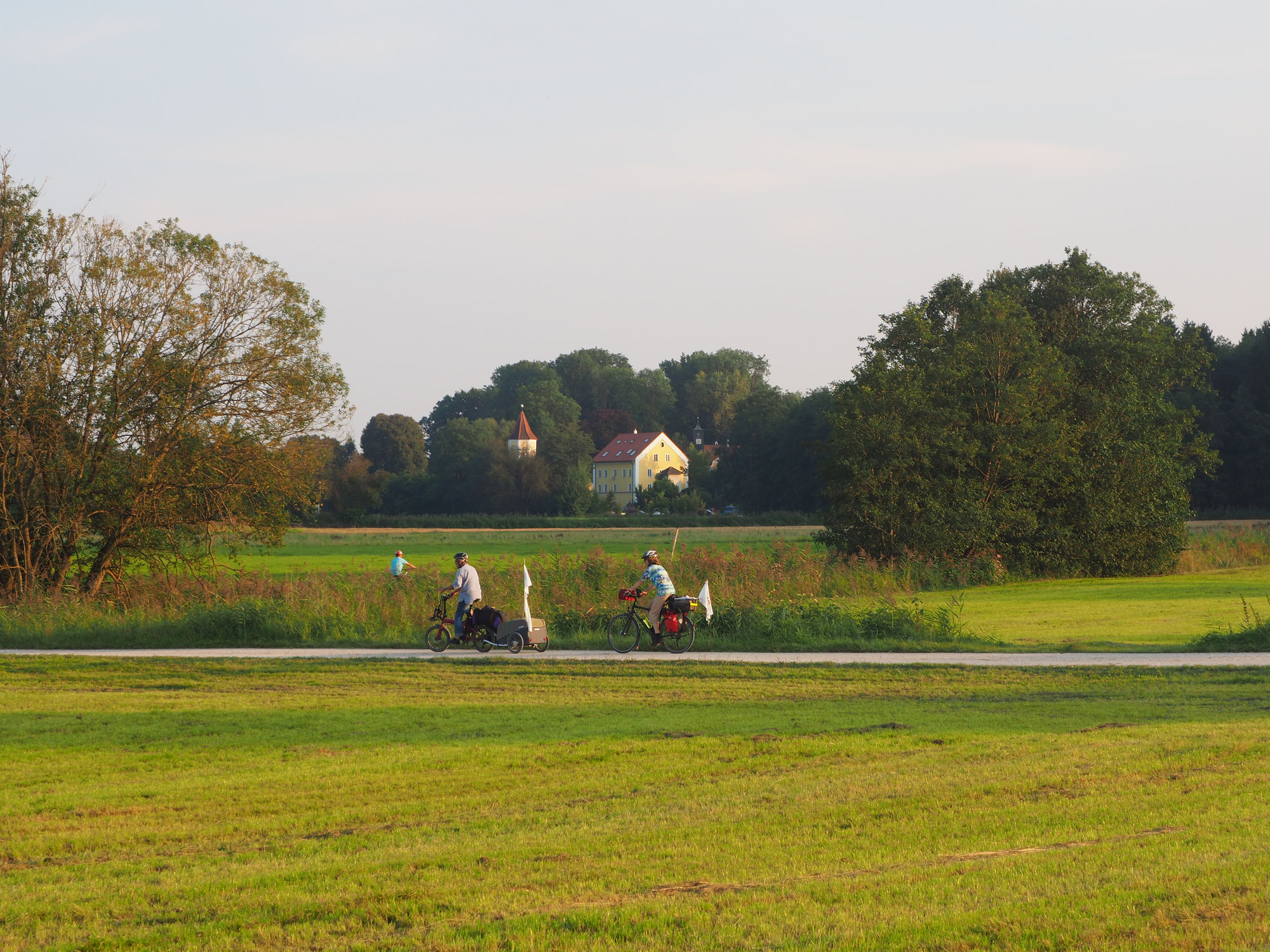 Eindrücke vom 12. Tag: Nördlingen bis Schloss Blumenthal