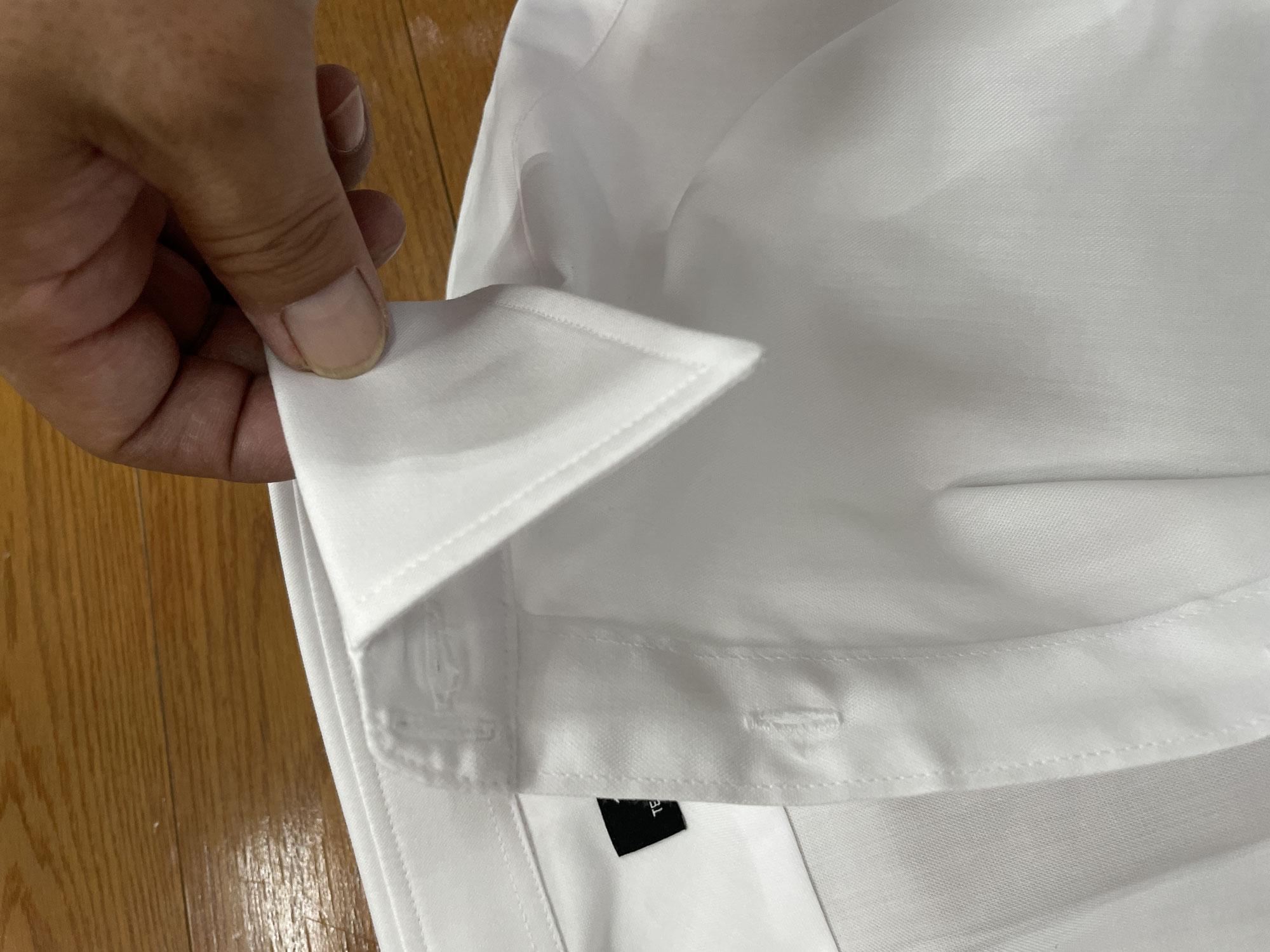 ワイシャツのカスタマイズ