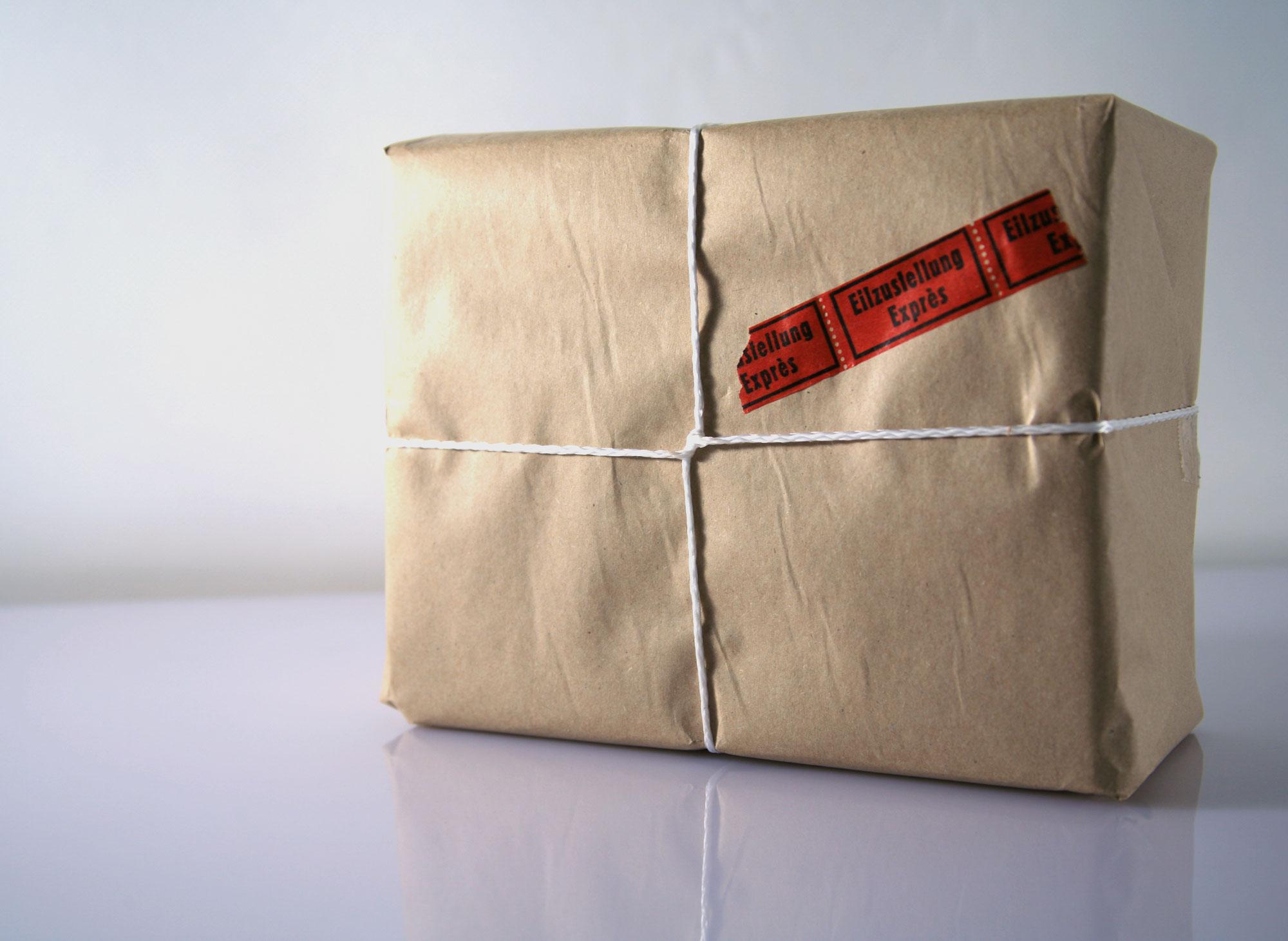 Ein Dank dem fleißigen Postboten