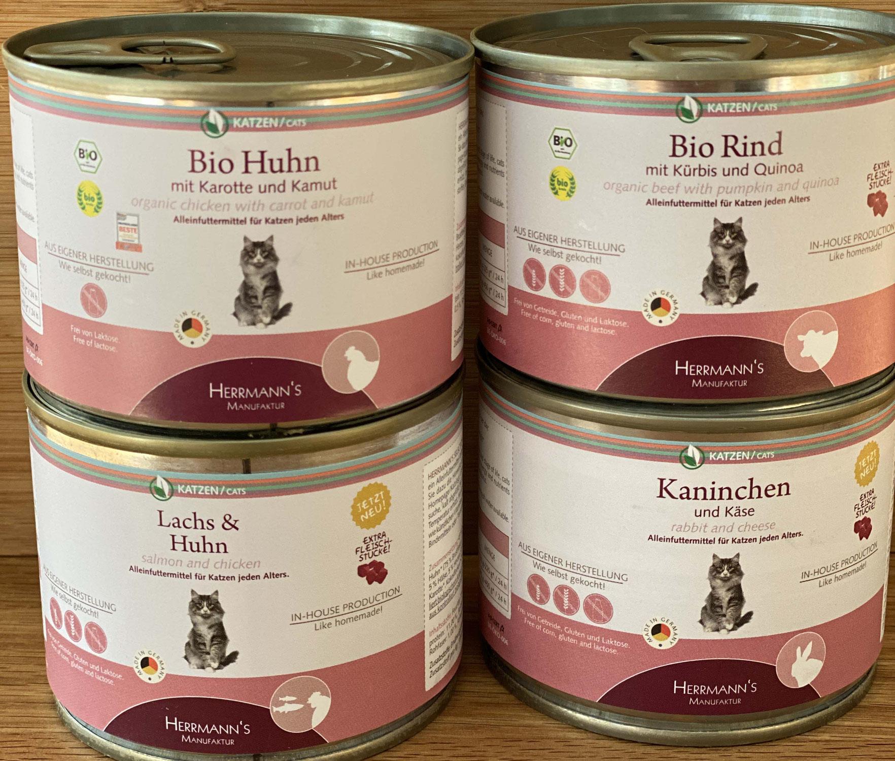 Futtertest Nr. 13: Herrmann's