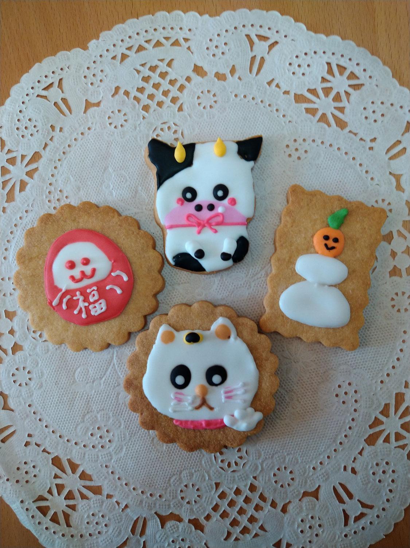 お正月のクッキー