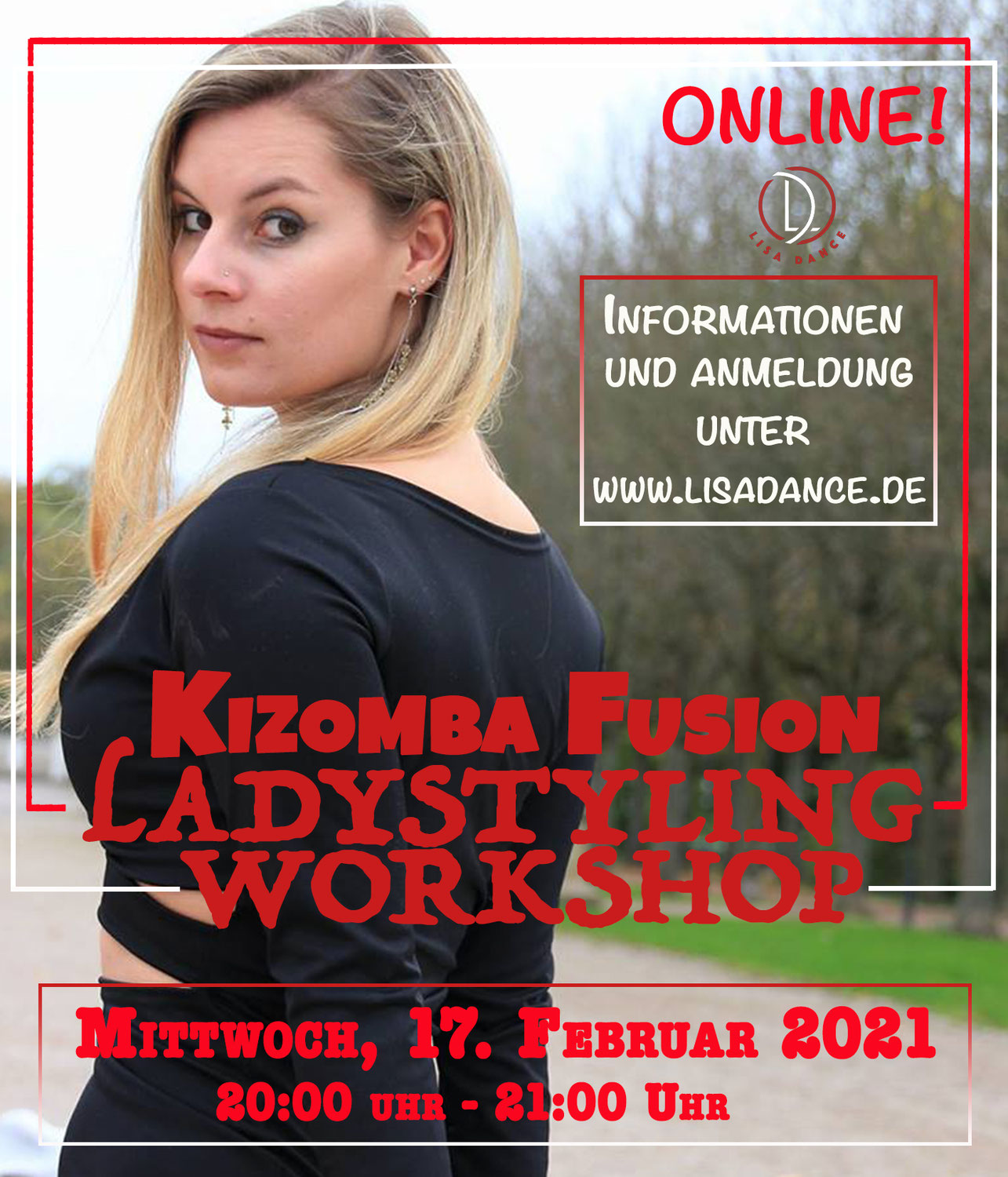 ONLINE - Kizomba Fusion Ladystyling Workshop
