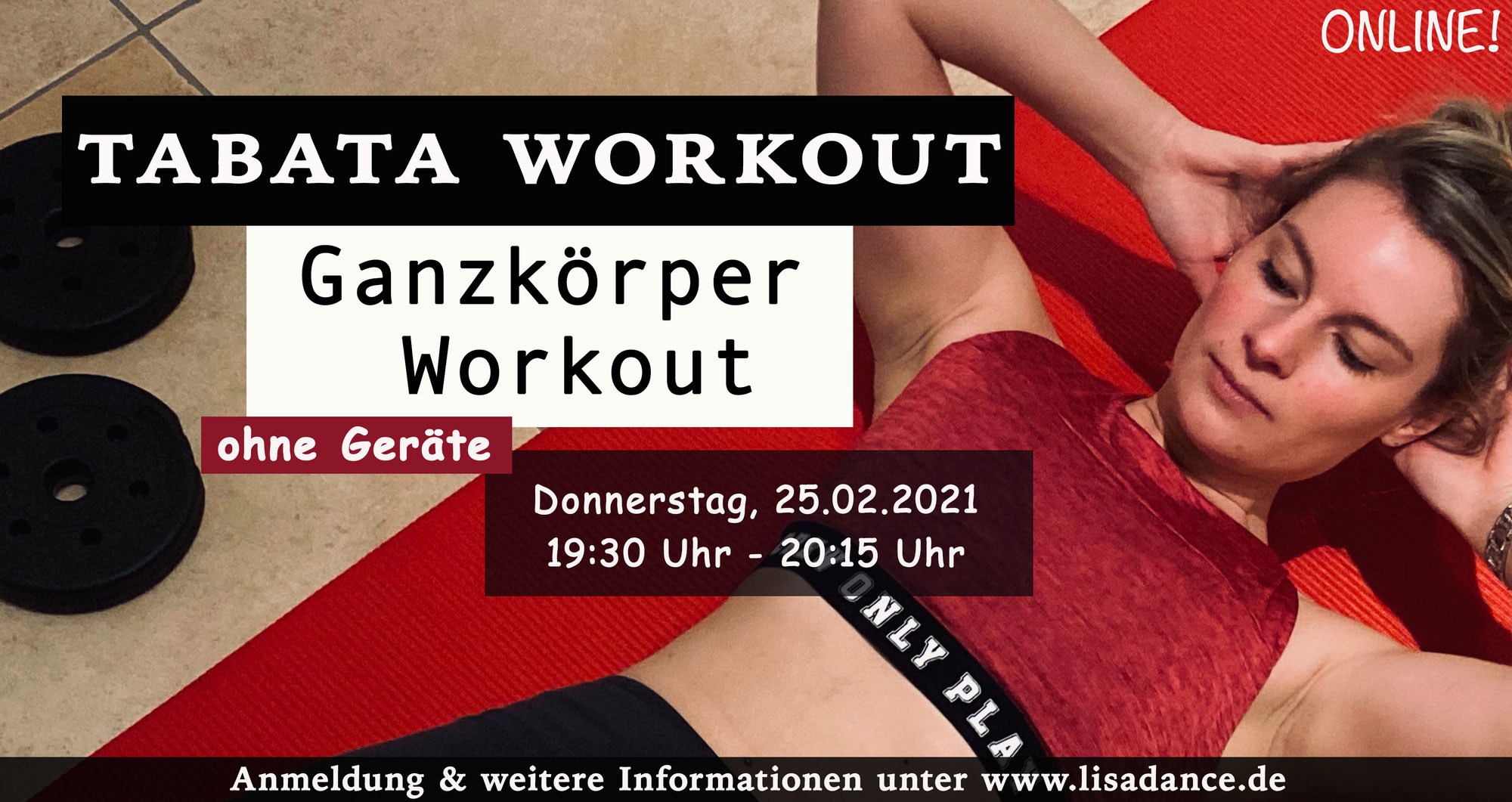 ONLINE - Tabata Workout