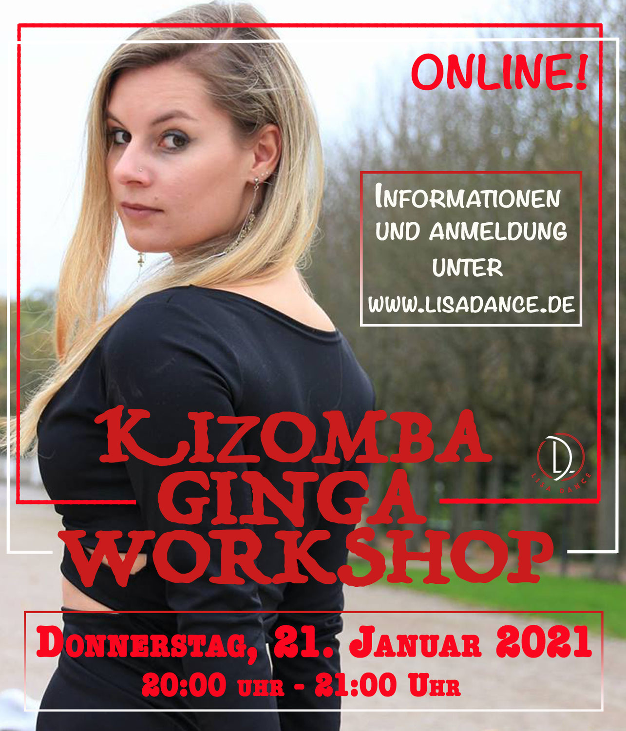 ONLINE - Kizomba Ginga Workshop