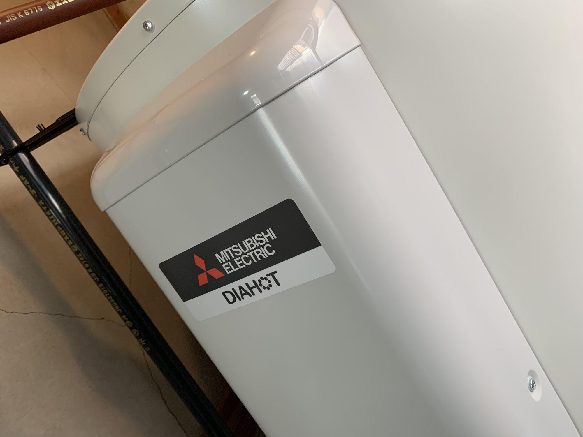 電気温水器交換工事 富士市にて