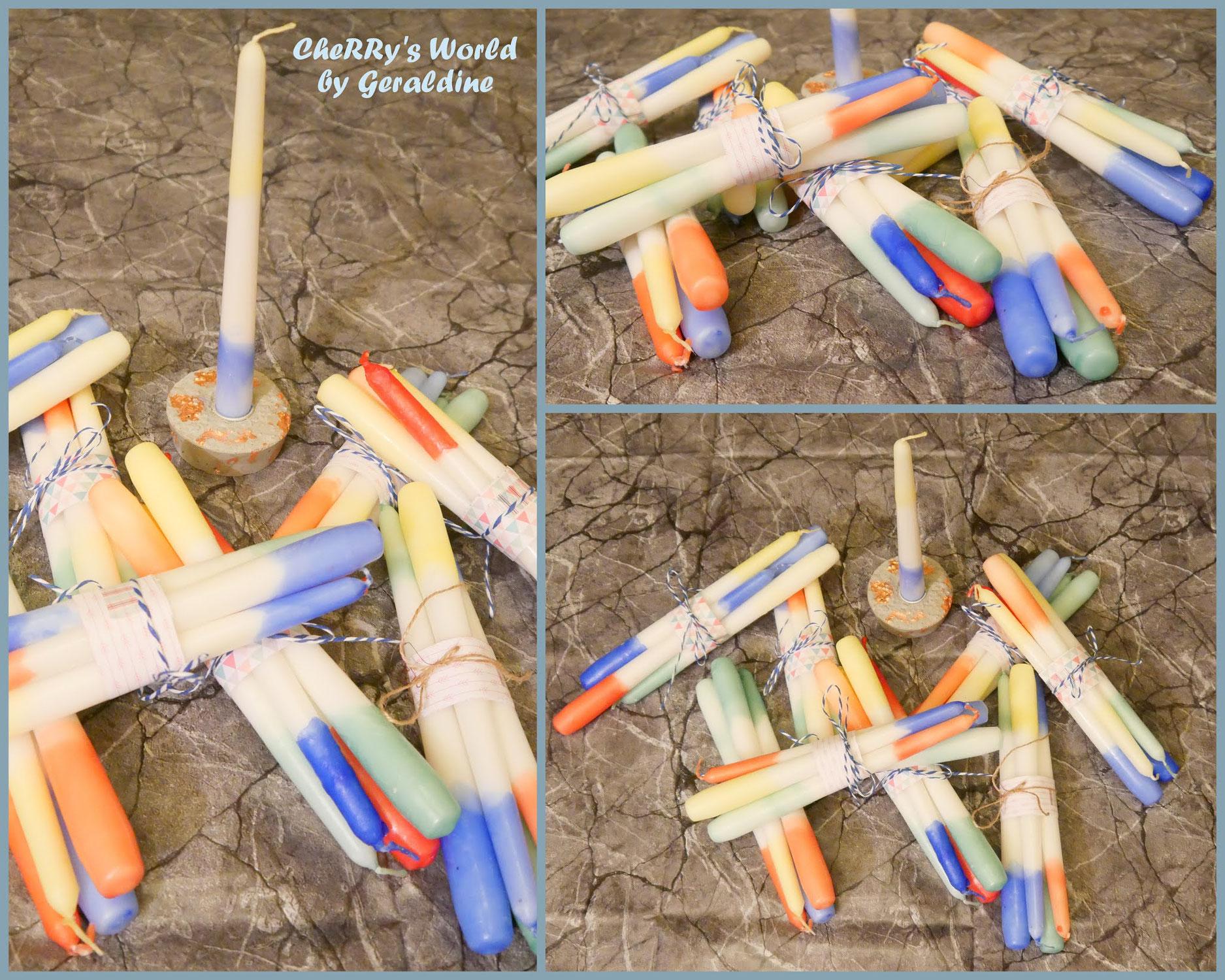 Dip Dye Kerzen