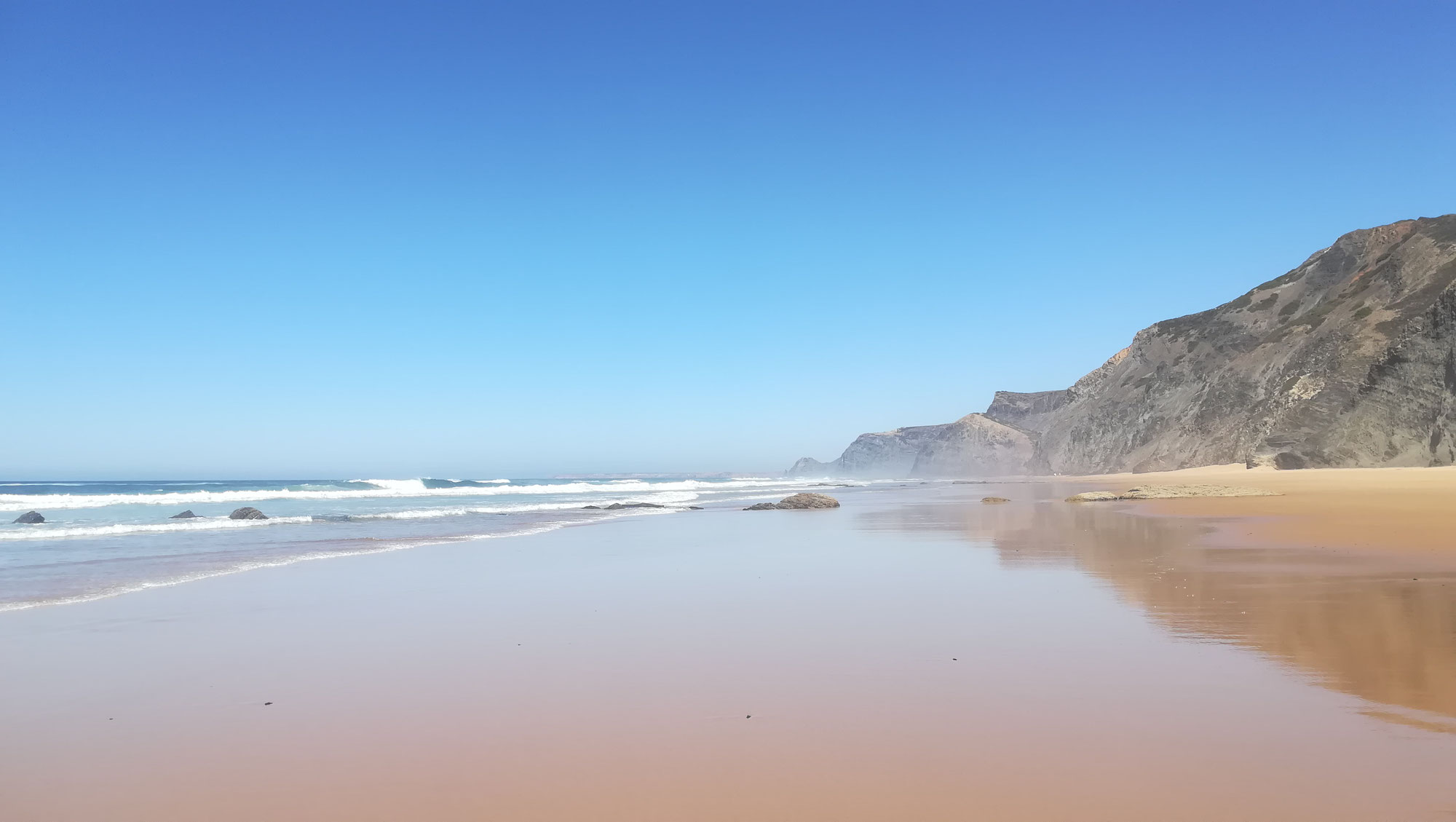 Algarve - Als mich das Glück entdeckte.
