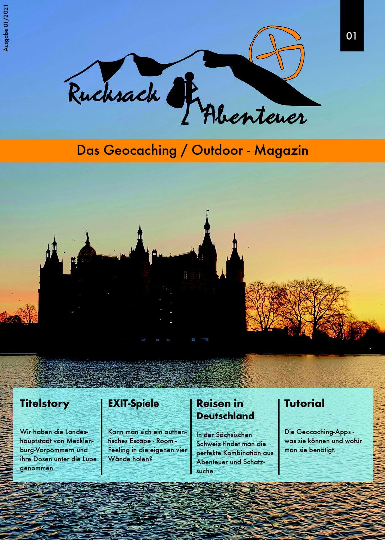 Rucksackabenteuer - Das Geocaching /Outdoor - Magazin