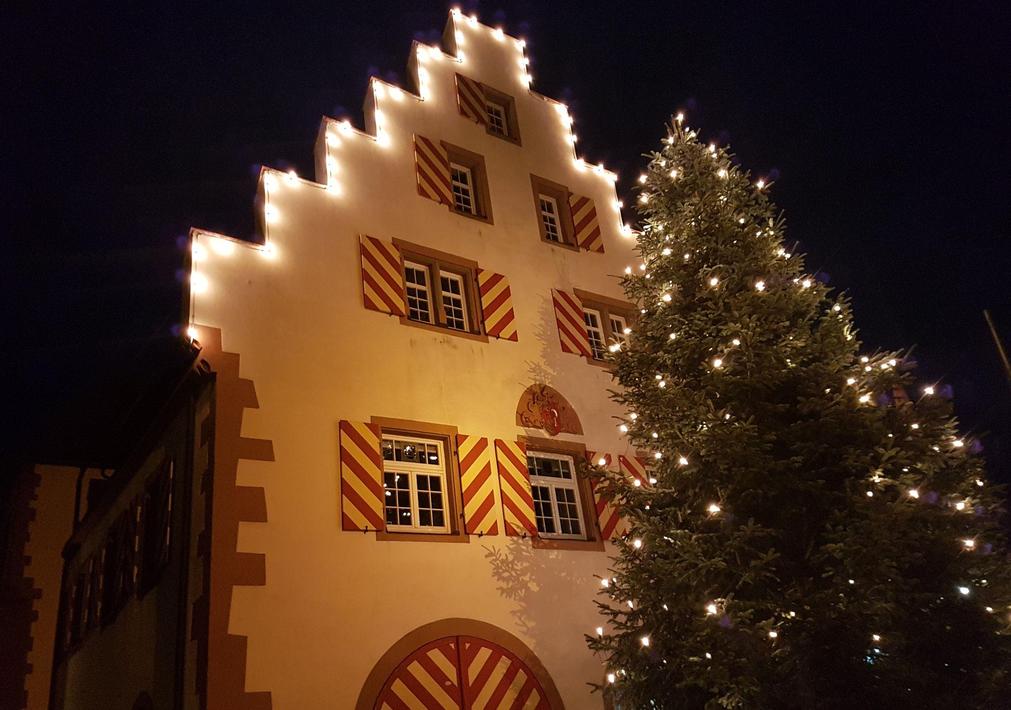 Doch ein Weihnachtsmarkt (Light) in Friesenheim 2021