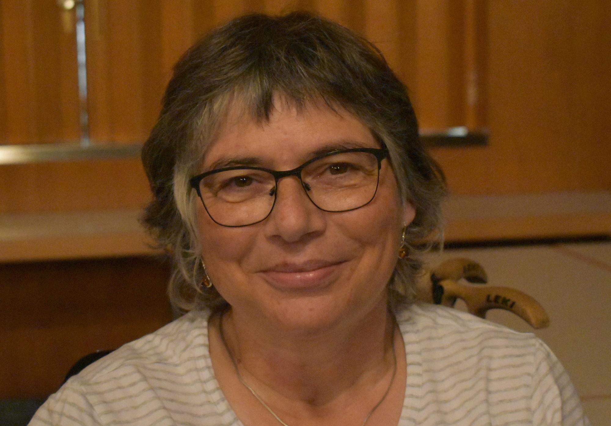 Die Neue im Nachbarschaftshilfe Vorstand heißt Claudia Güthner