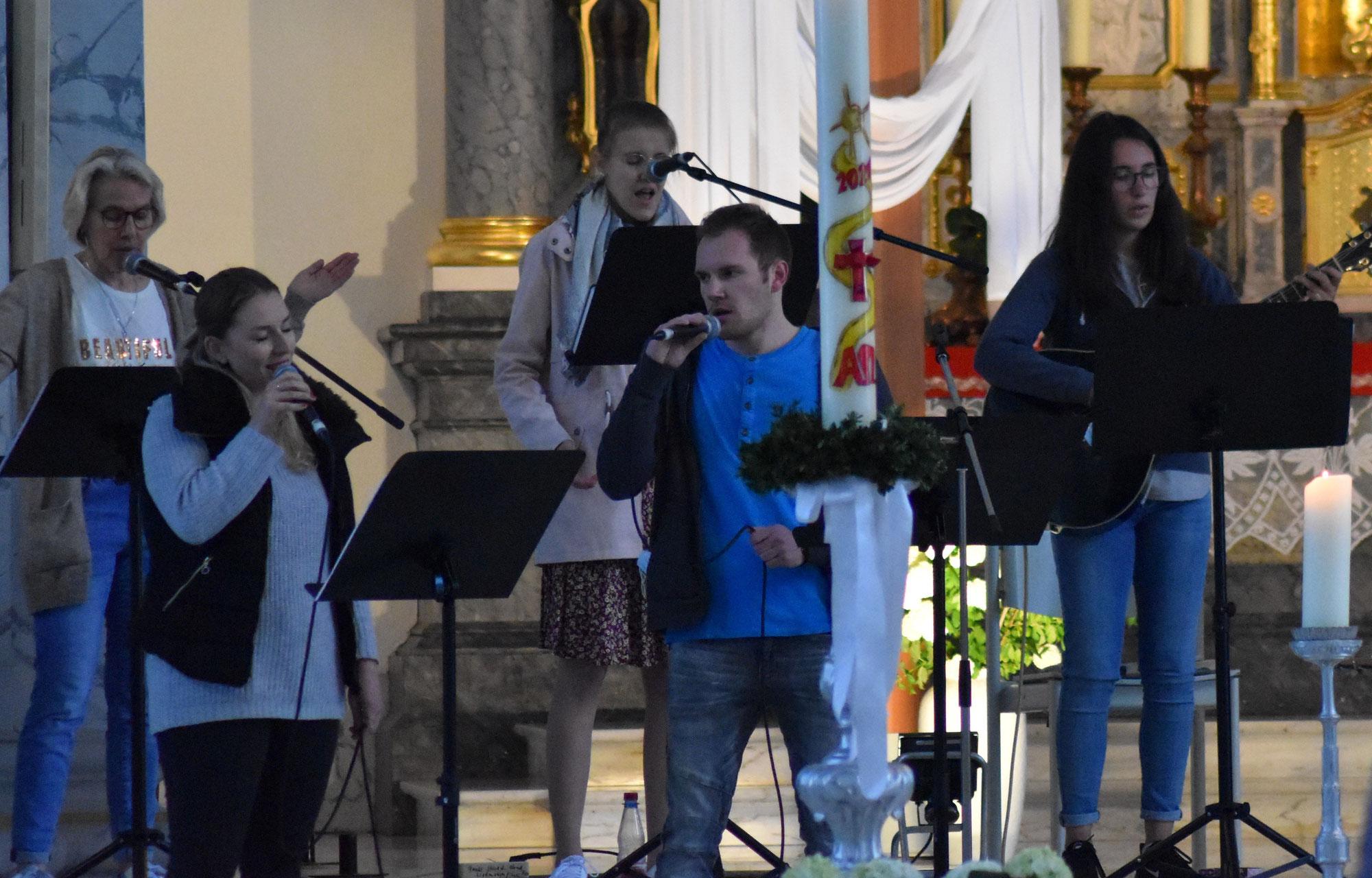Music & Pray in Schuttern beeindruckend