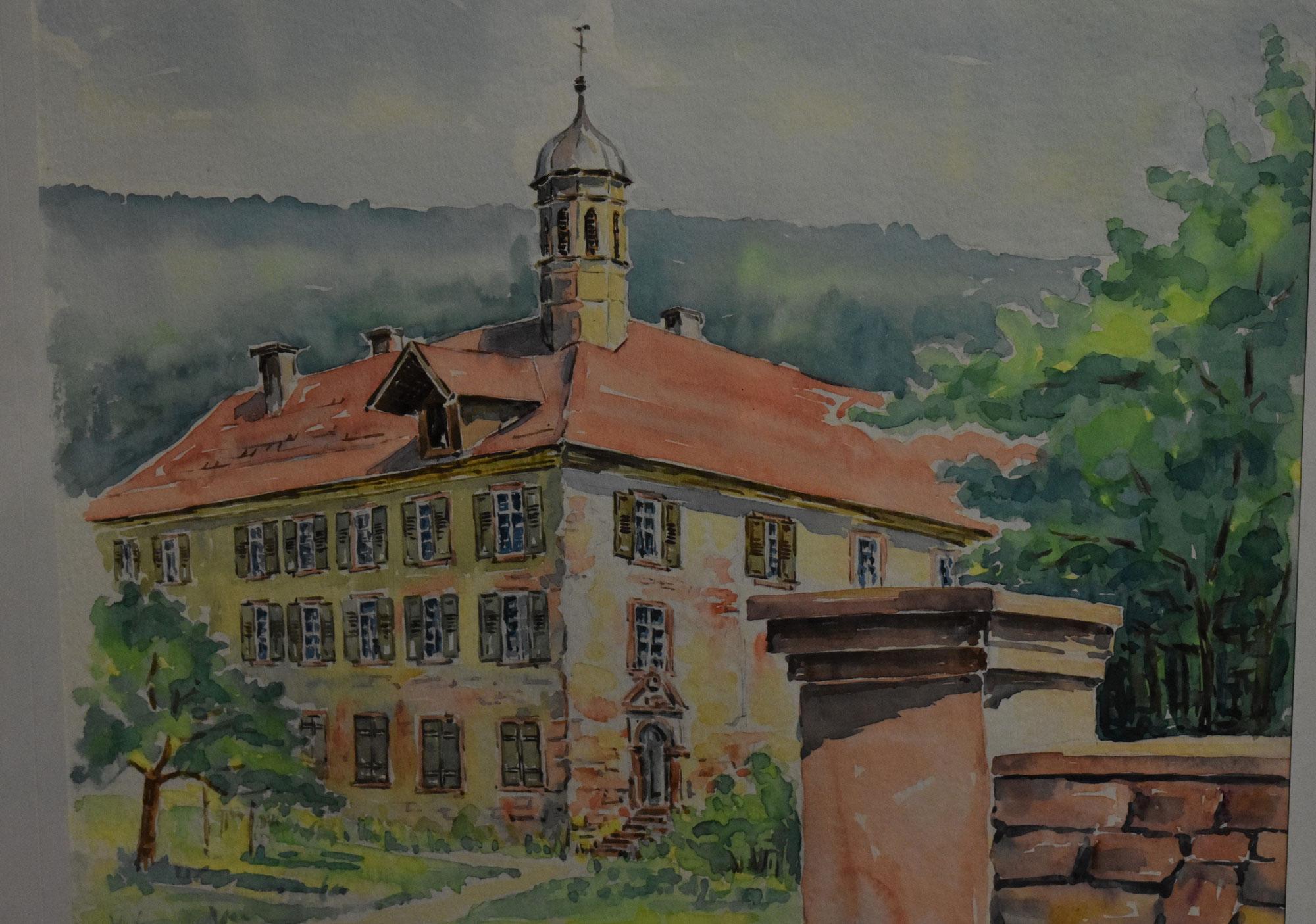 Tusche, Aquarell, ein Lebenswerk - Oswald Fahrner stellt im Kursana aus