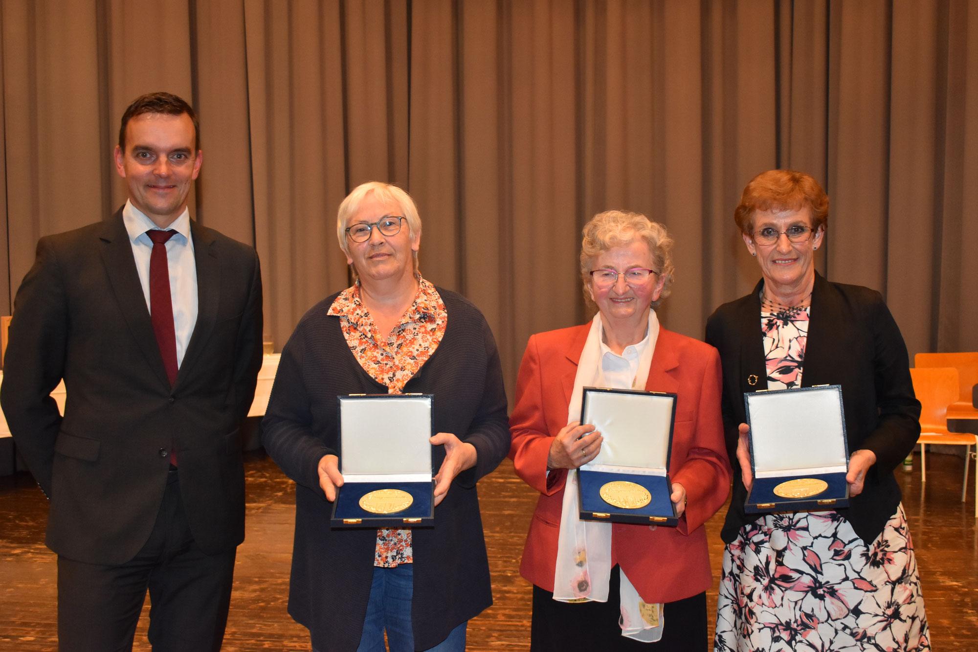 Friesenheim Gala - Bürgermedaille für starke Frauen