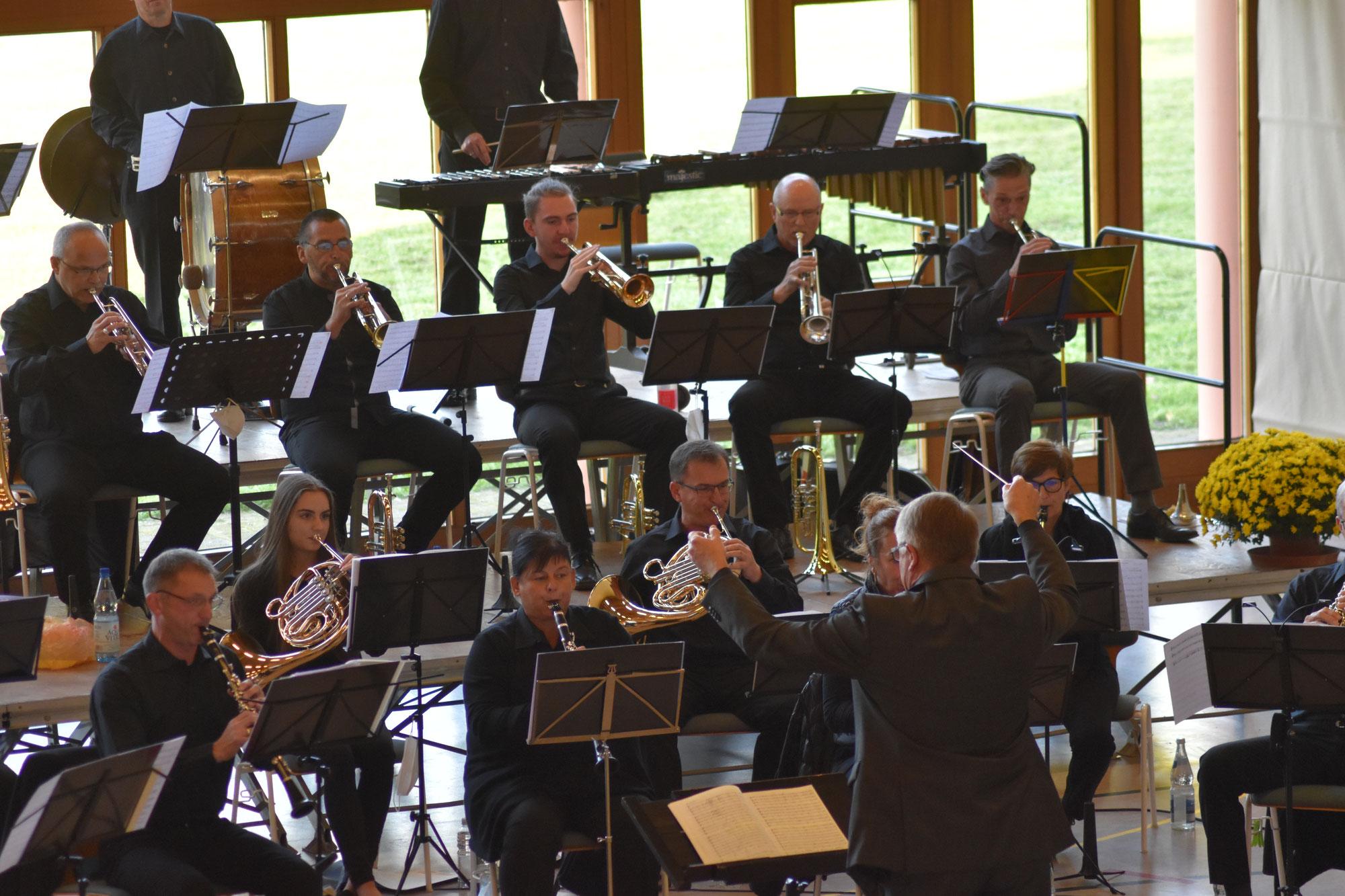 Trauer, Anteilnahme und ein bewegendes Konzert des Musikverein Schuttern