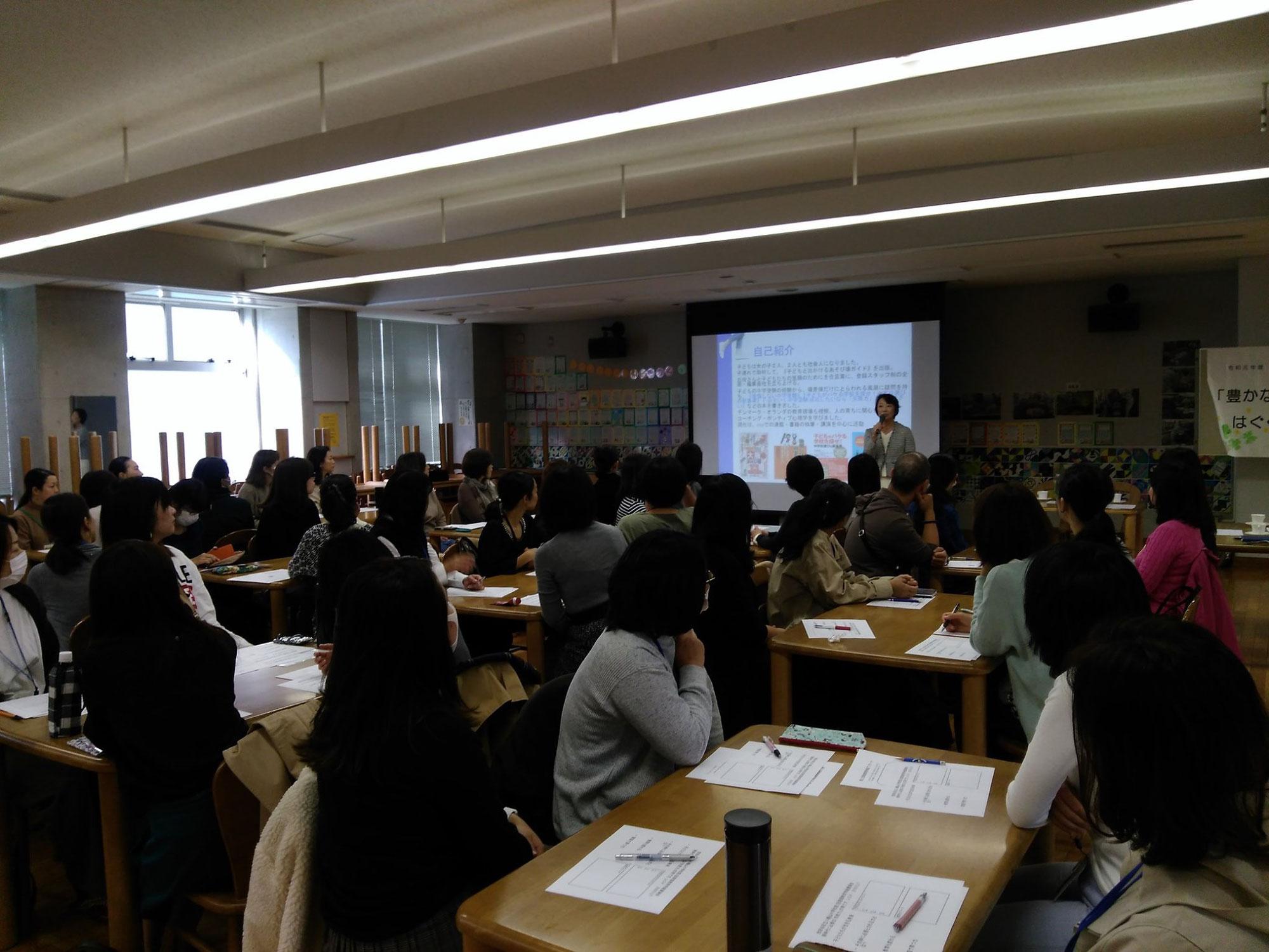 世田谷区立八幡山小でのPTA向け講演会でした