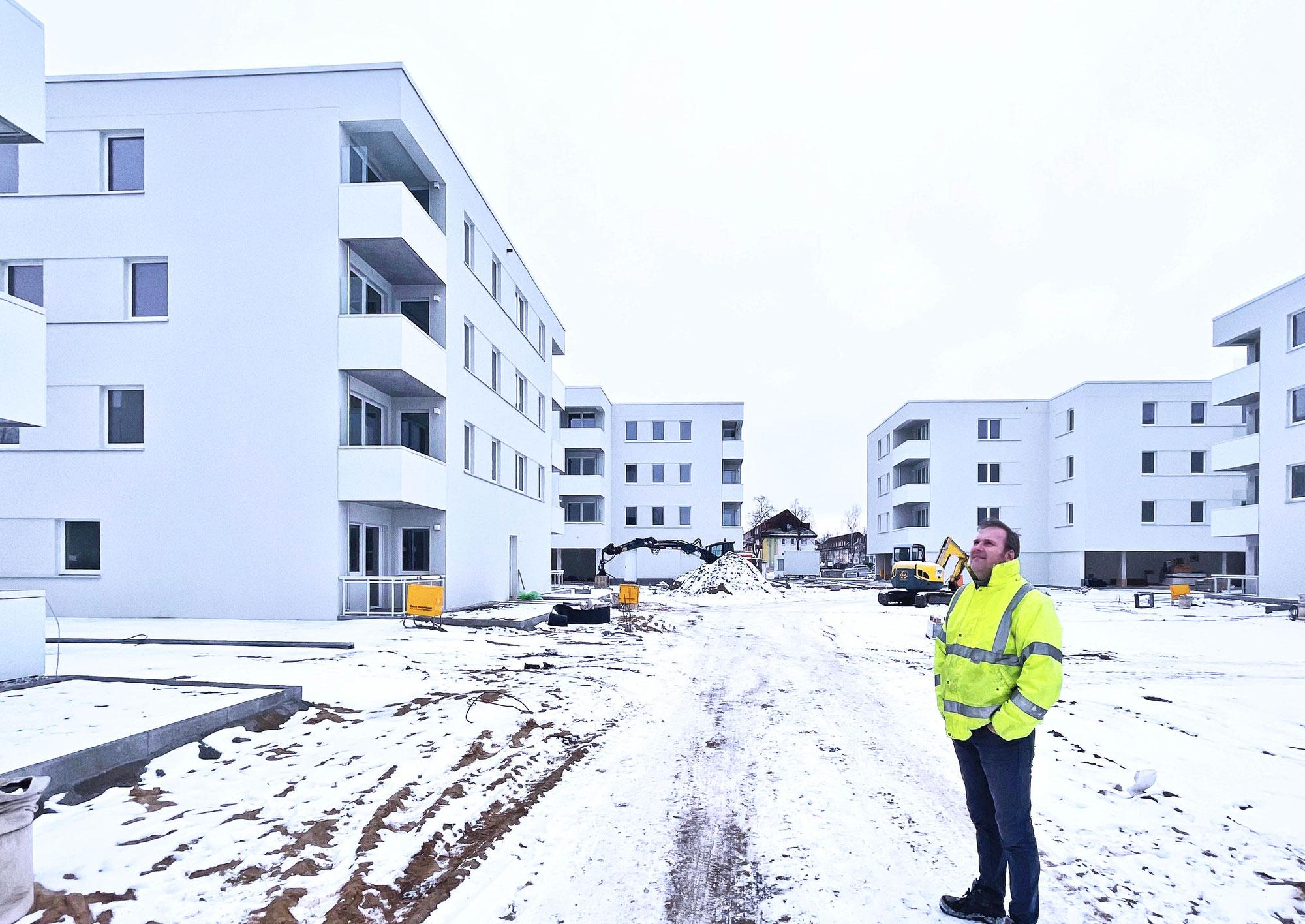 Fertigstellung BA1 der Baustelle Weiße Stadt Oranienburg