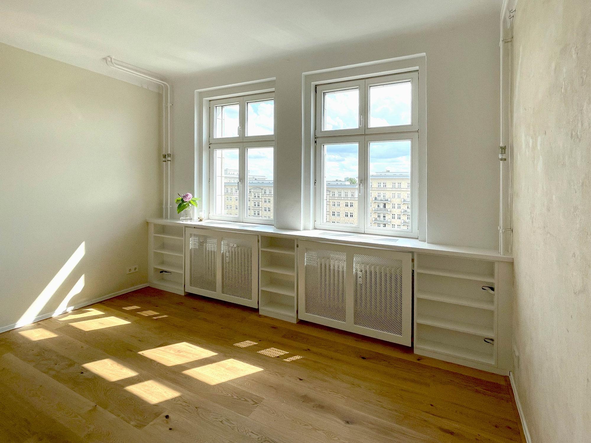 Fertigstellung der Sanierung einer kleinen Altbauwohnung in Berlin-Friedrichshain