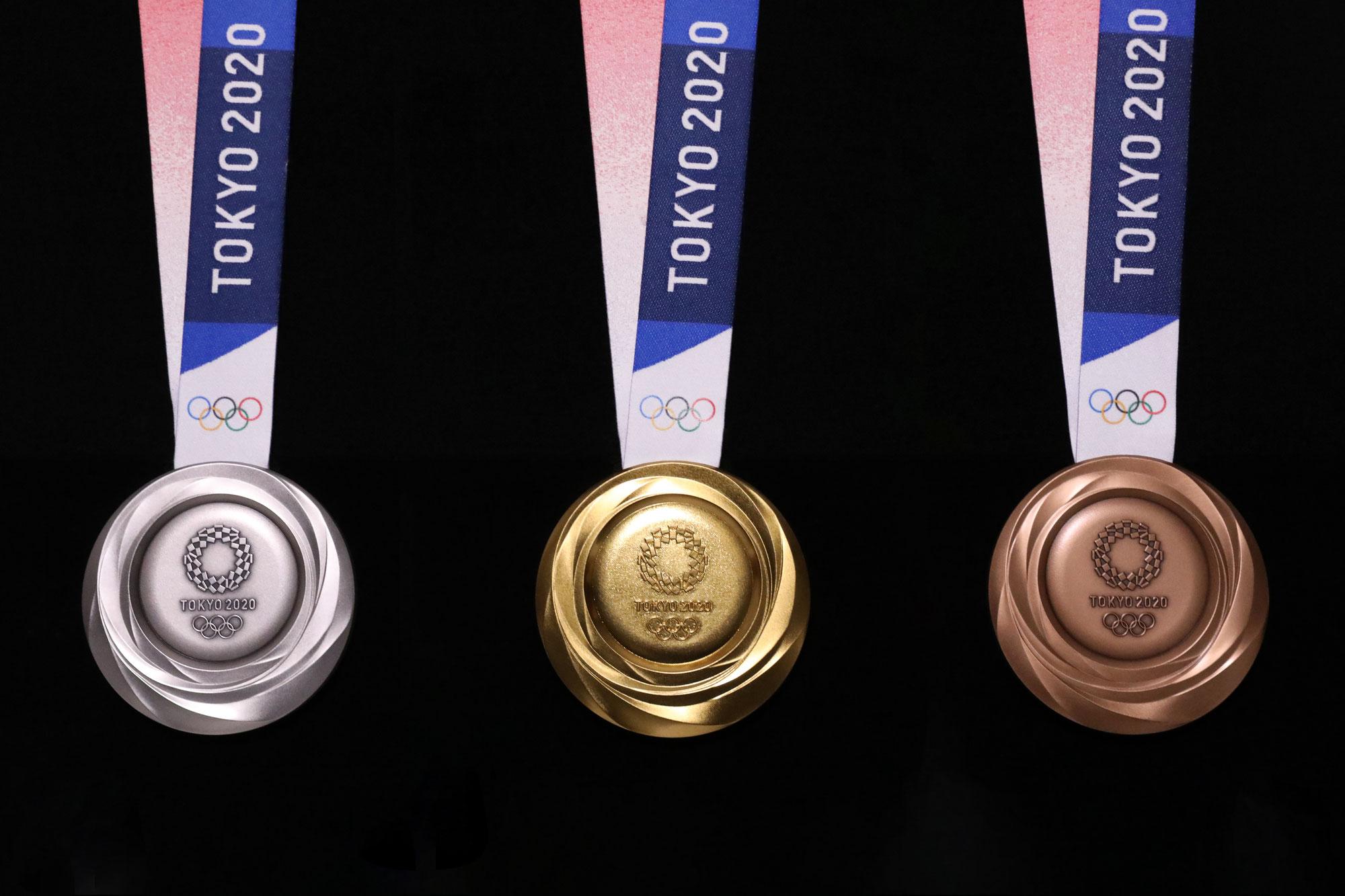 東京2020オリンピックメダル