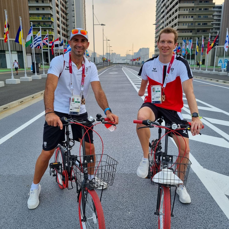 Medieninfo Günther Matzinger - Matzinger fiebert paralympischem Triathlon entgegen