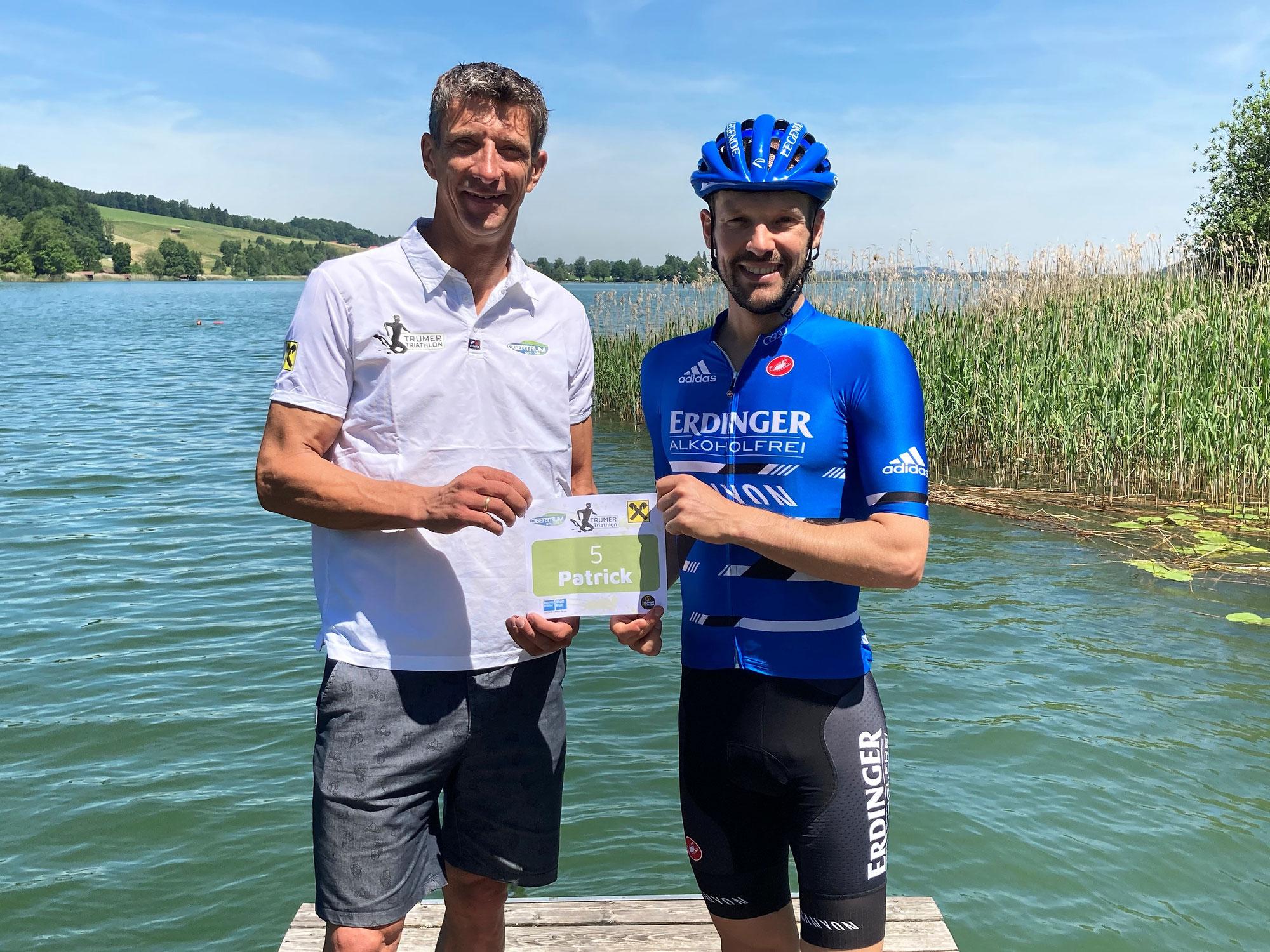 Trumer Triathlon 16.-18. Juli 2021 - Weltmeister Patrick Lange geht in Obertrum an den Start
