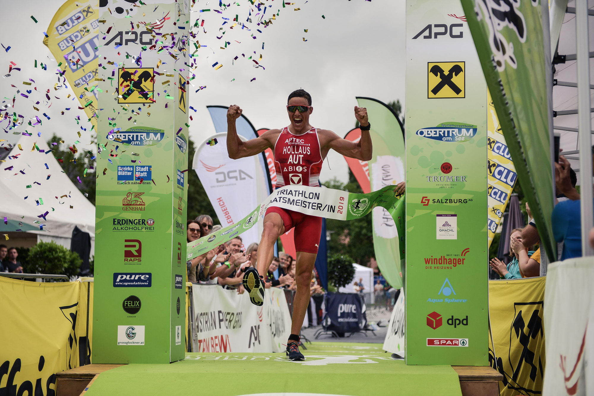 """Presseaussendung Trumer Triathlon """"Volle Kraft voraus!"""""""