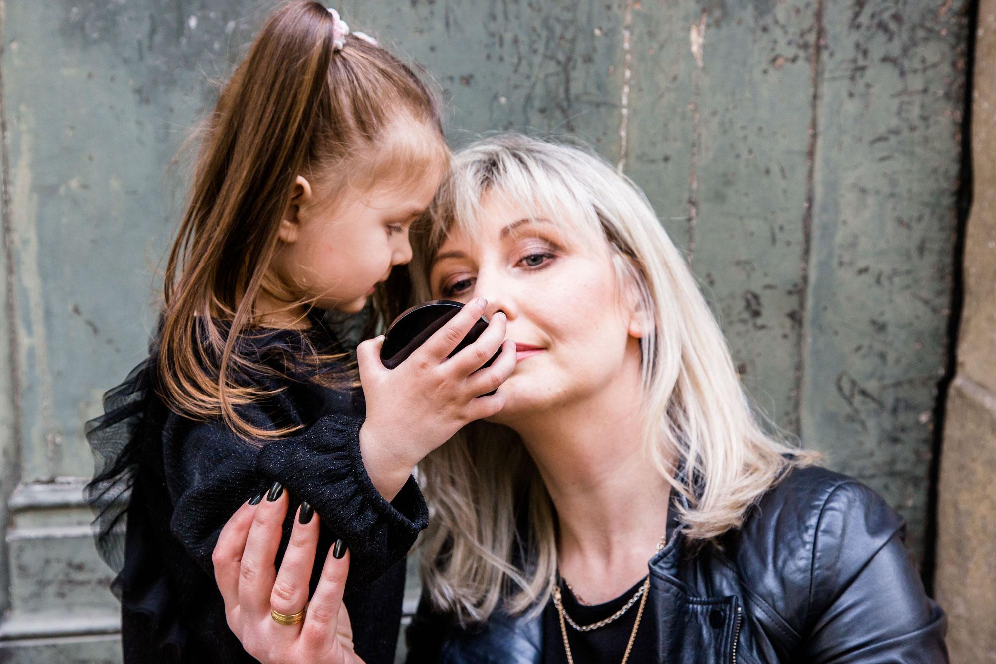 Mutter-Tochter-Fotoshooting mit Sandra und Eugenia