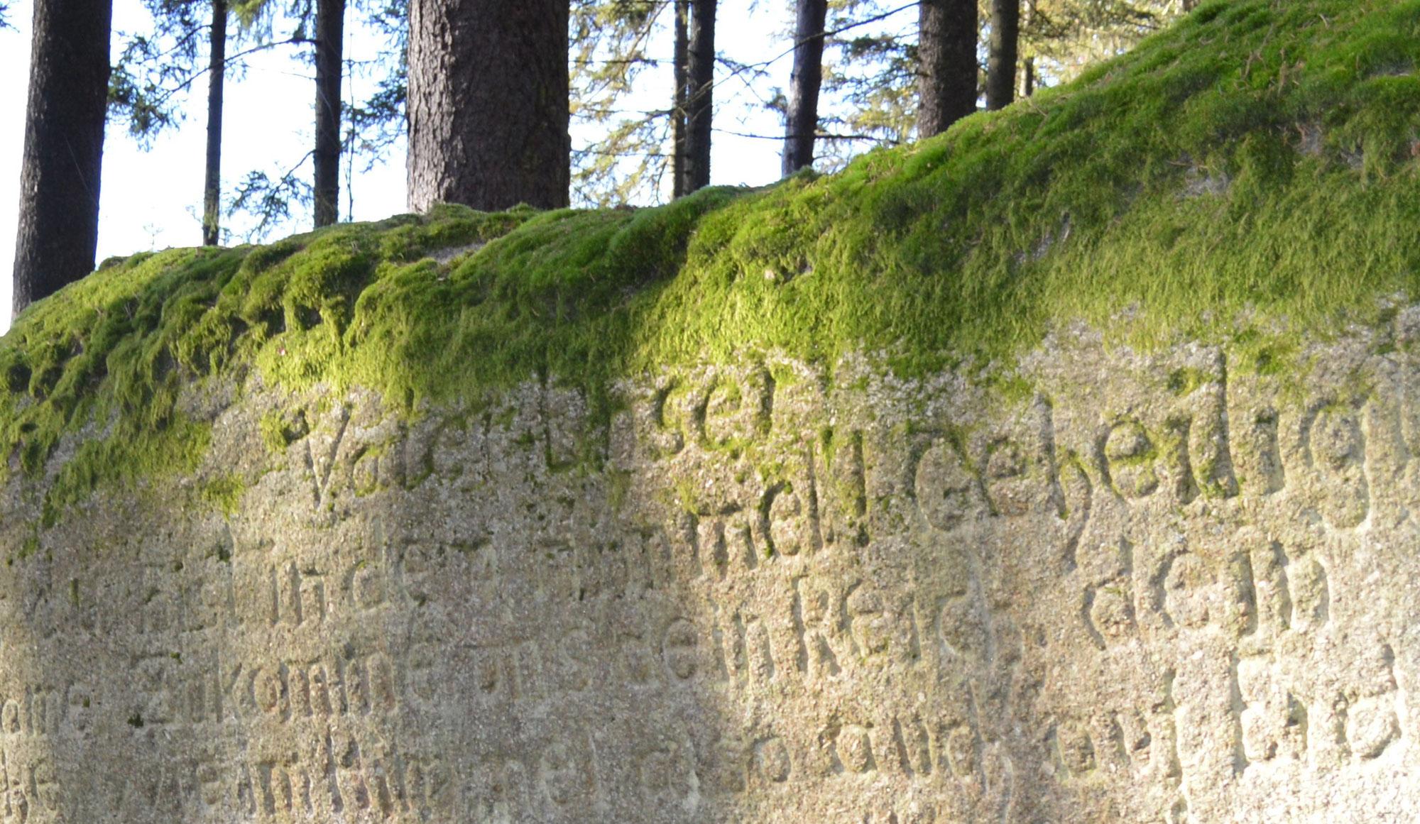 """Wanderung zum """"Vater-Unser-Stein"""""""