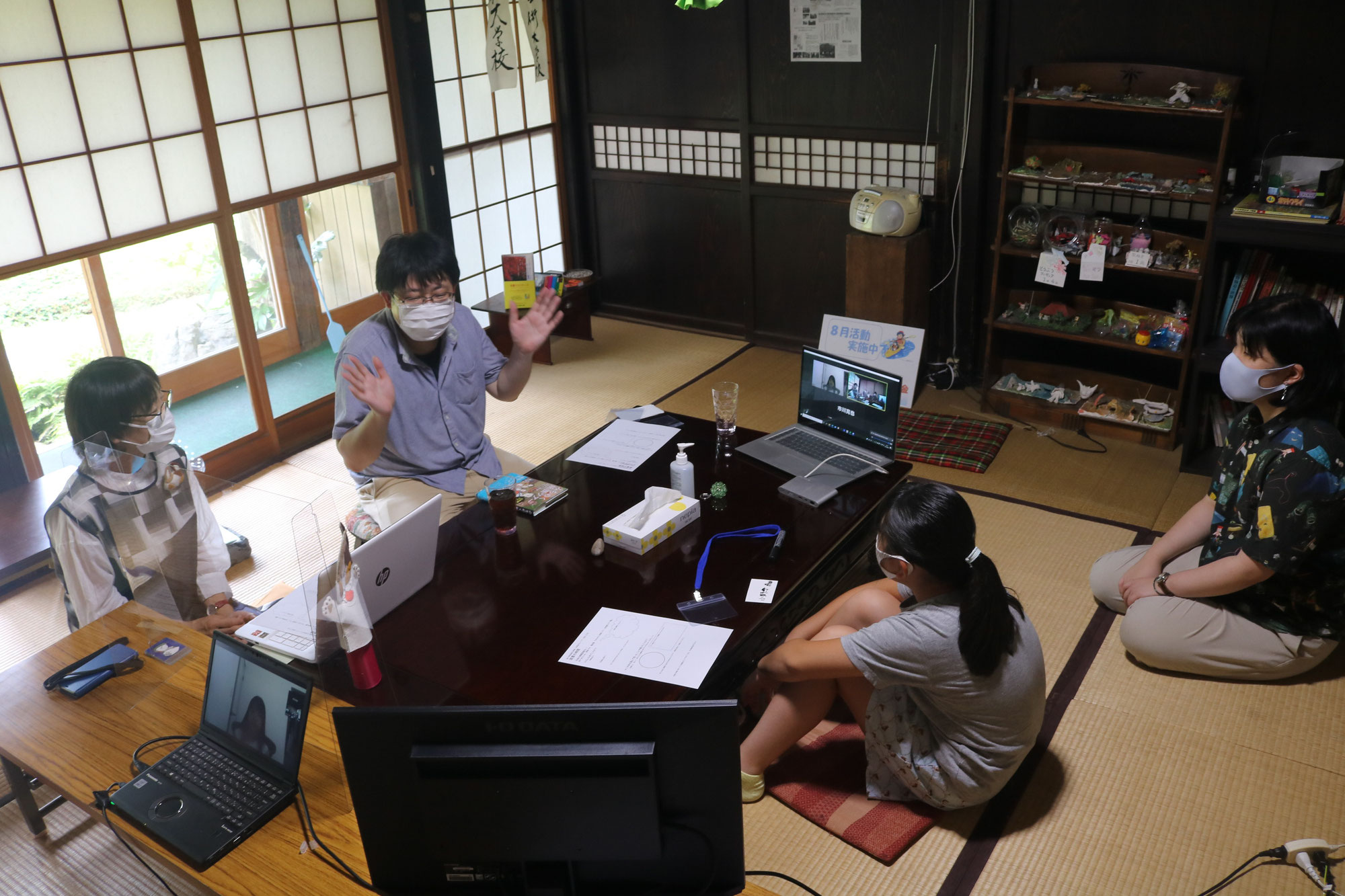 第十五回 金ケ崎芸術大学校 第七回「小学生ウィーク」前半