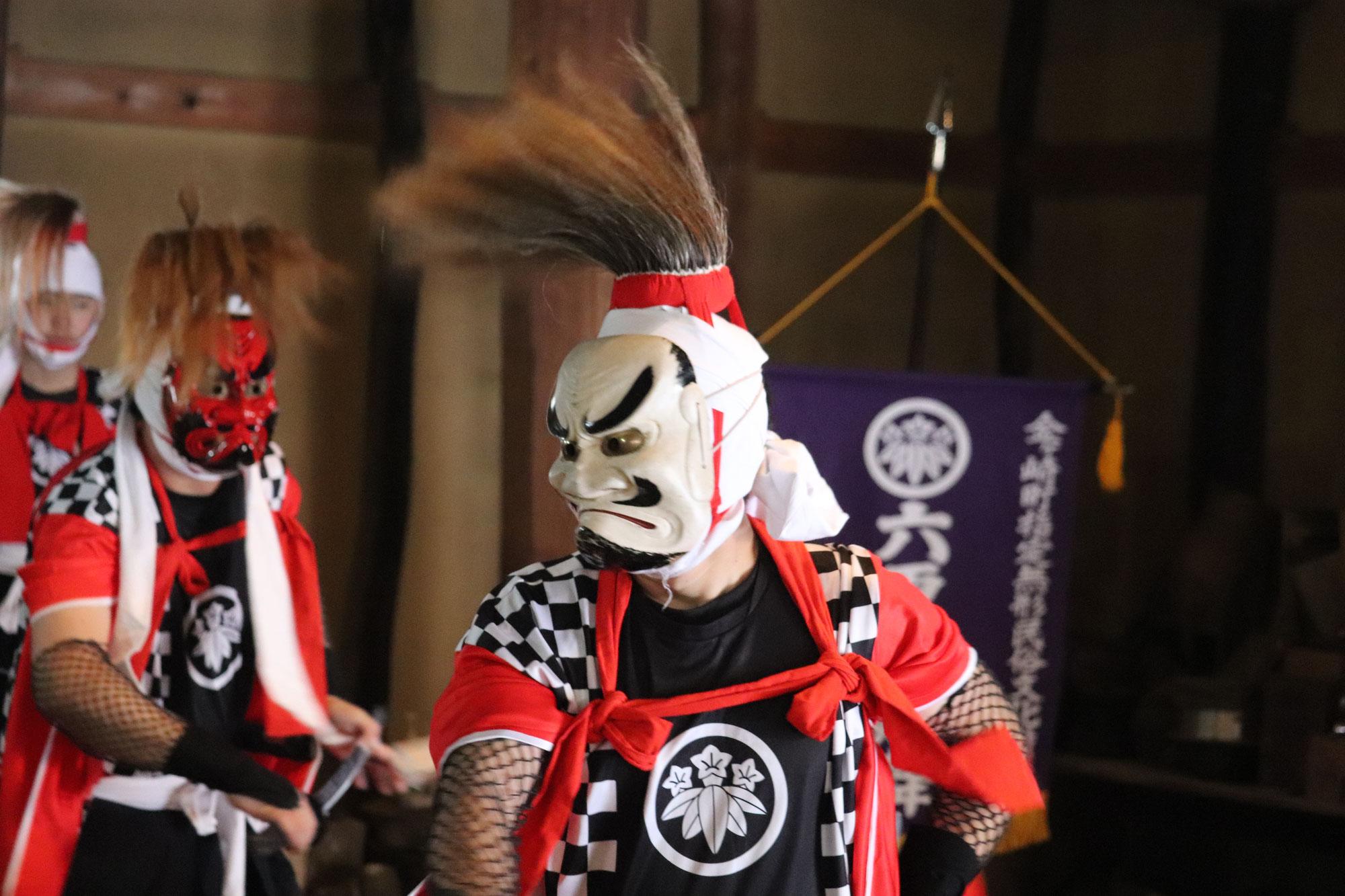 第八回 金ヶ崎芸術大学校 金ヶ崎要害鬼祭