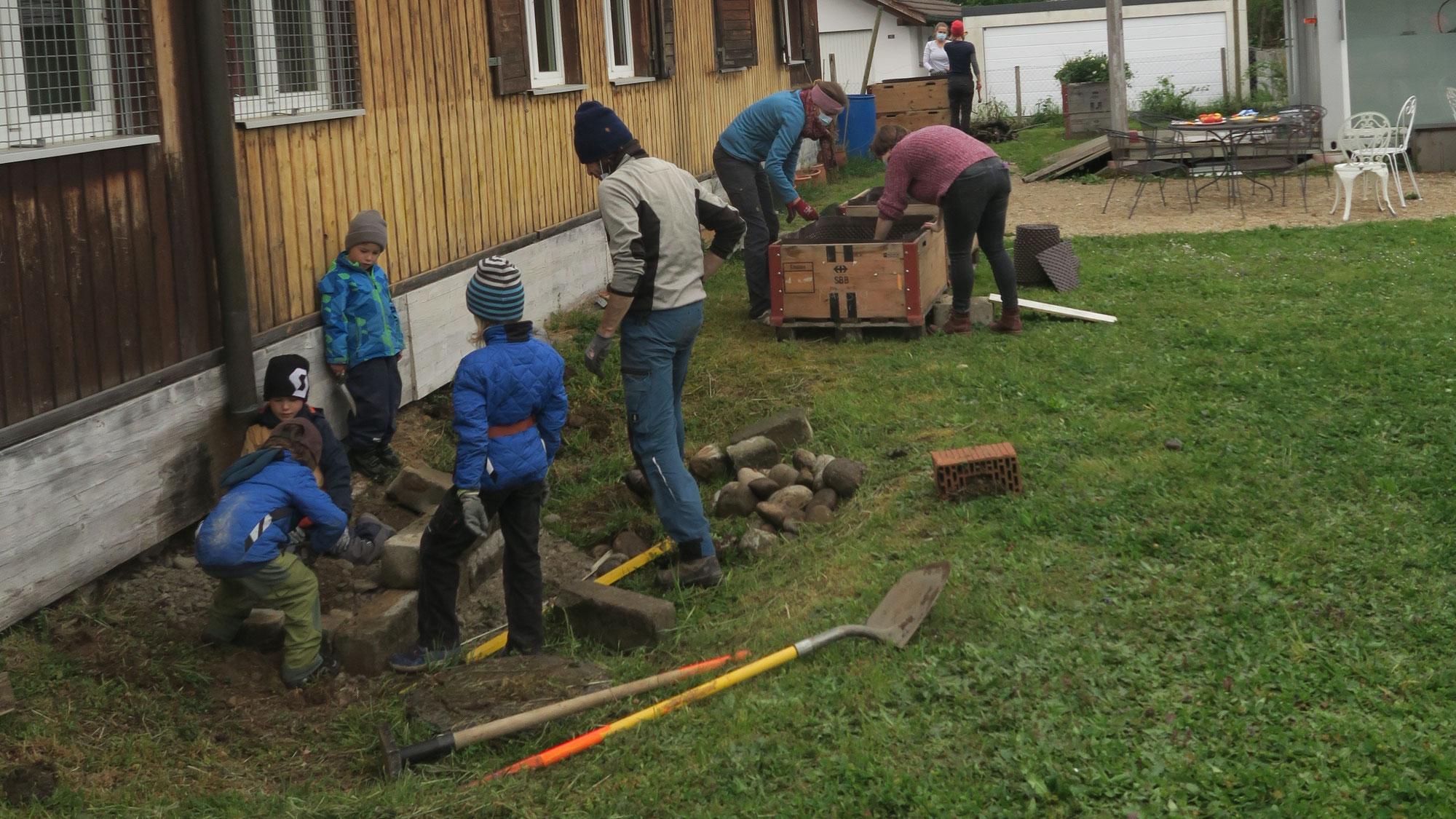 Aktionstag zur Verschönerung am Mühlemattweg