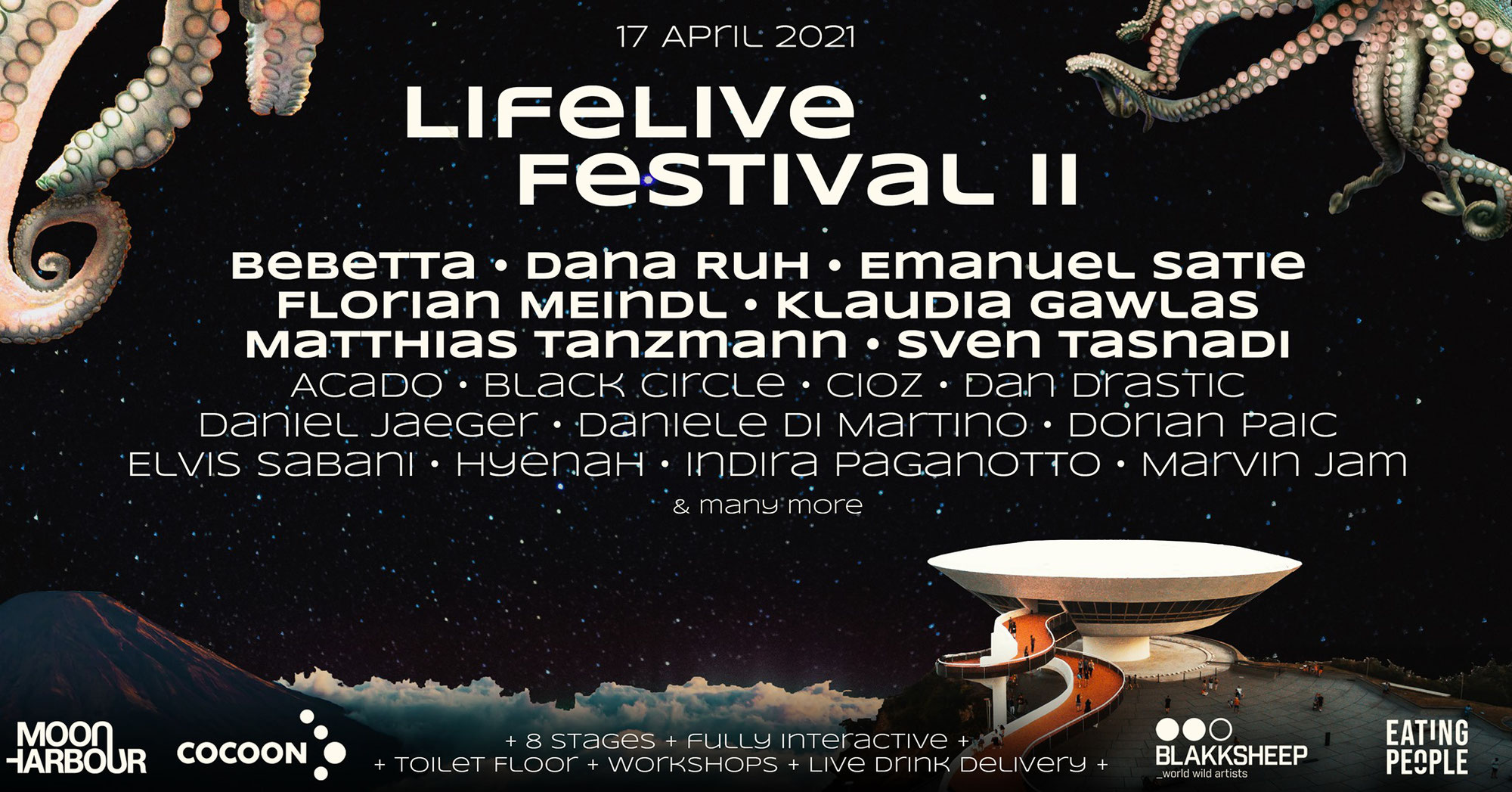 Push Hard presents LifeLive Festival II – Interactive Streaming Experience