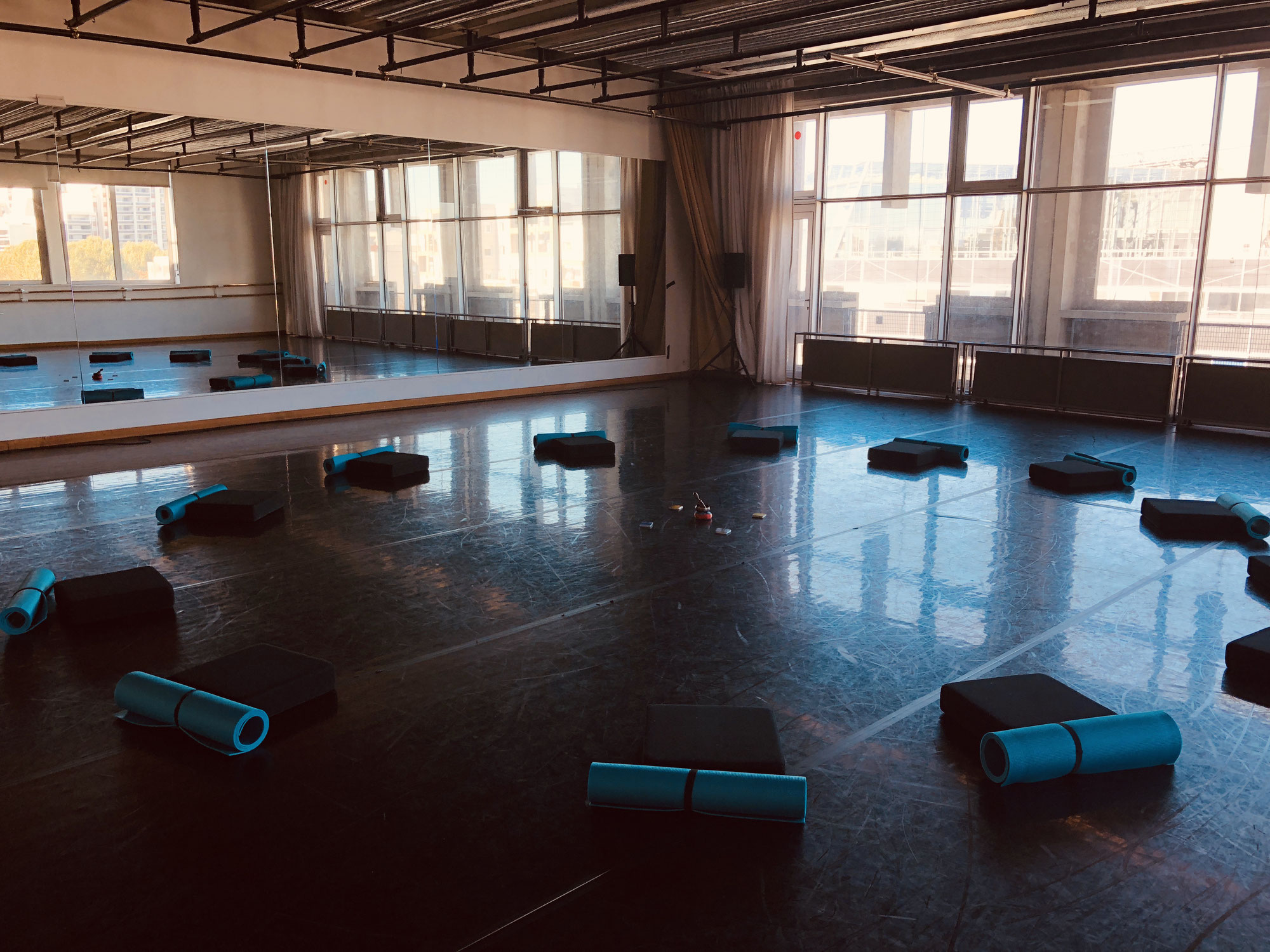 Masterclass Gestion du stress pour les danseurs au Centre National de la Danse (CND) de Pantin avec Gaëlle Piton