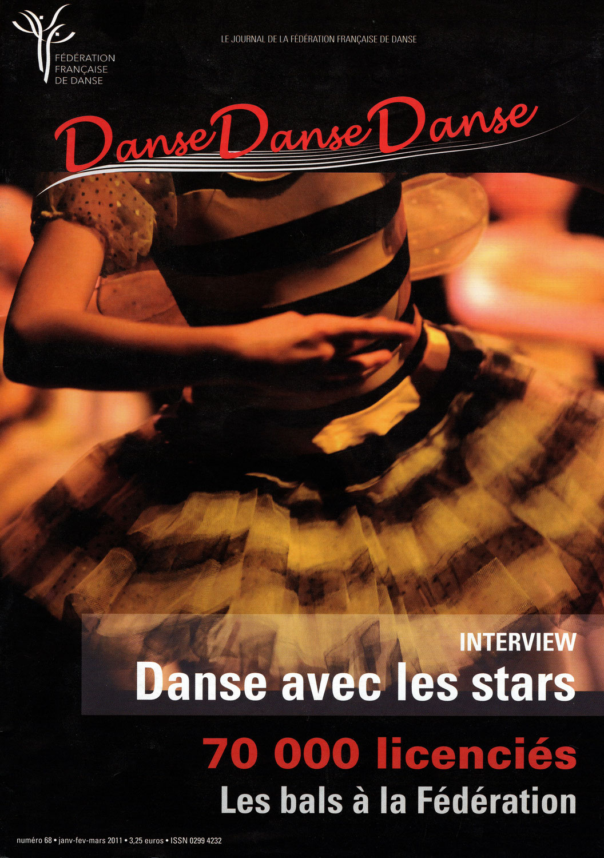 «Danse avec les stars. Plein feux sur la danse sportive» par Gaëlle Piton, Magazine Danse Danse Danse n° 68