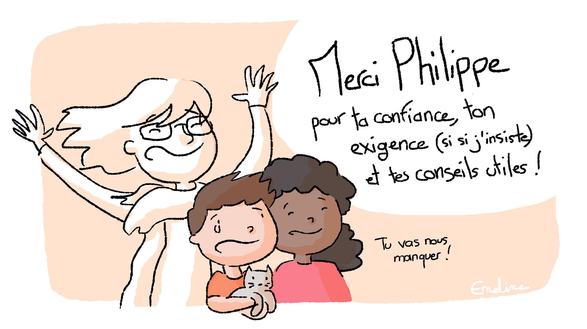 PHILIPPE NOUS QUITTE !
