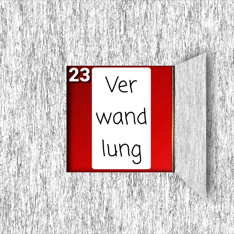 Türchen Nr. 23 ###Verwandlung###