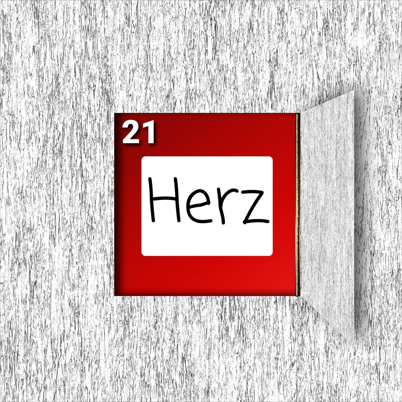 Türchen Nr. 21 ###Herz###