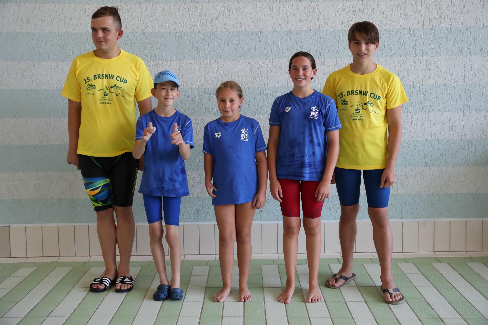TVI-Para-Schwimmer in Remscheid