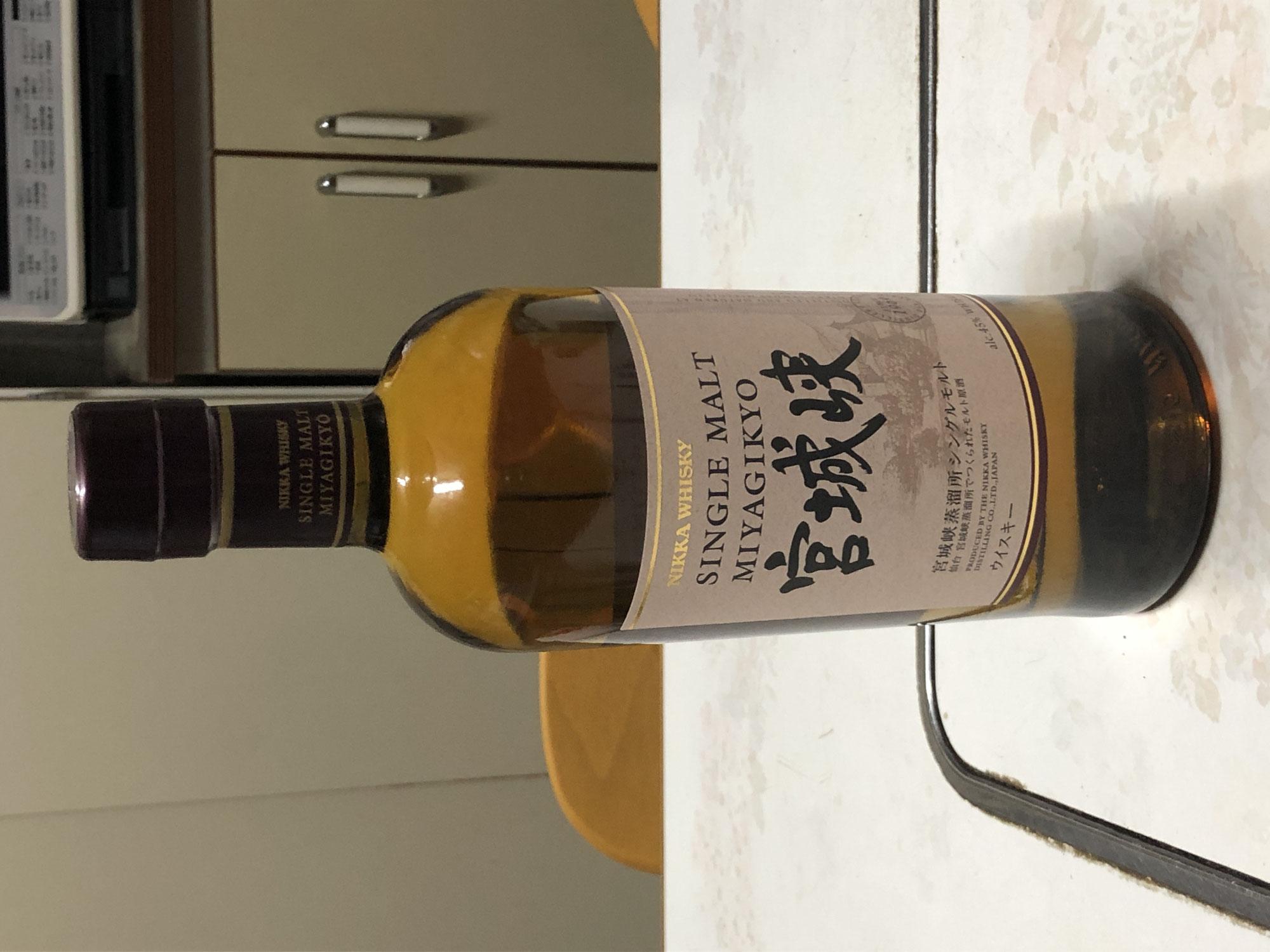 久しぶりに日本のウイスキー