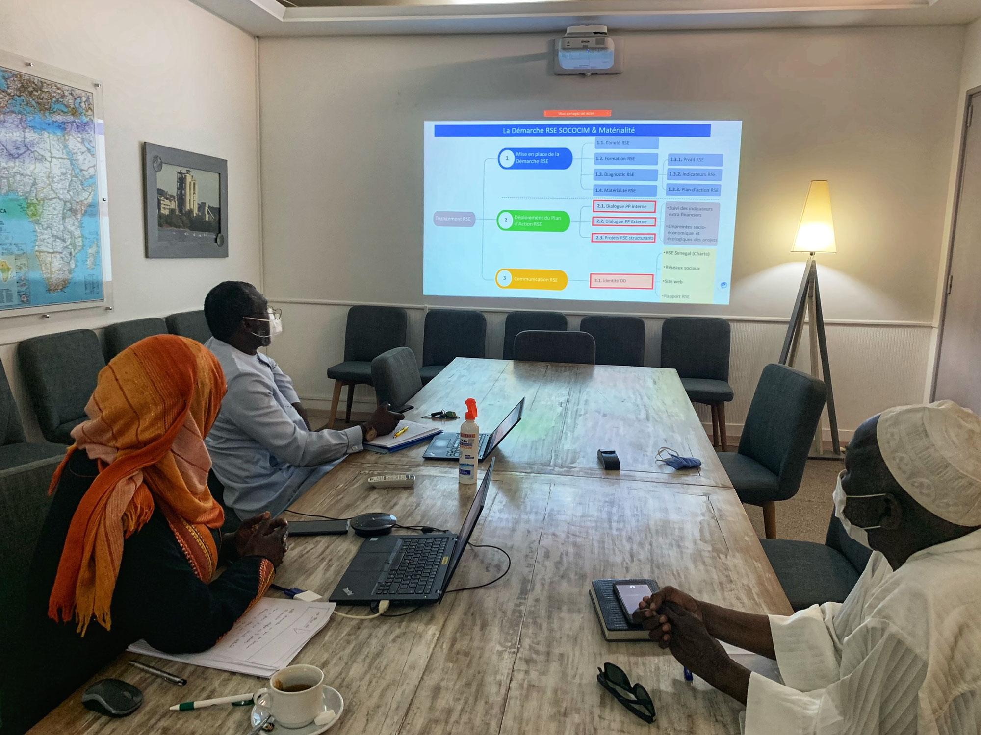 RSE- Dialogue avec ses Parties Prenantes internes : Sococim partage son analyse de matérialité et son projet de plan d'action RSE 2021-2023