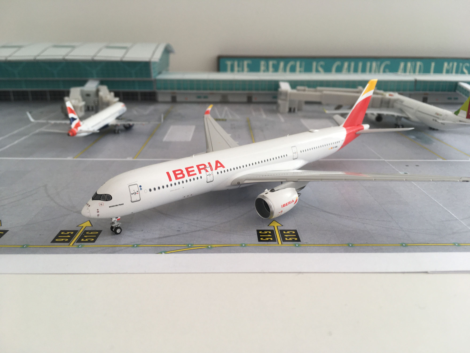 NG Models Iberia A350 EC-NBE