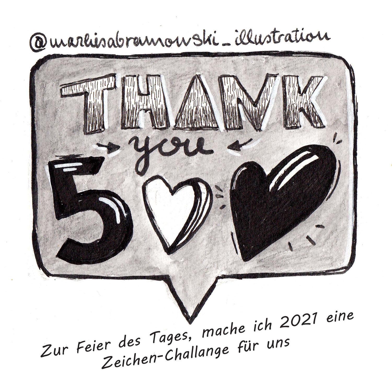 500 Follower auf instagram