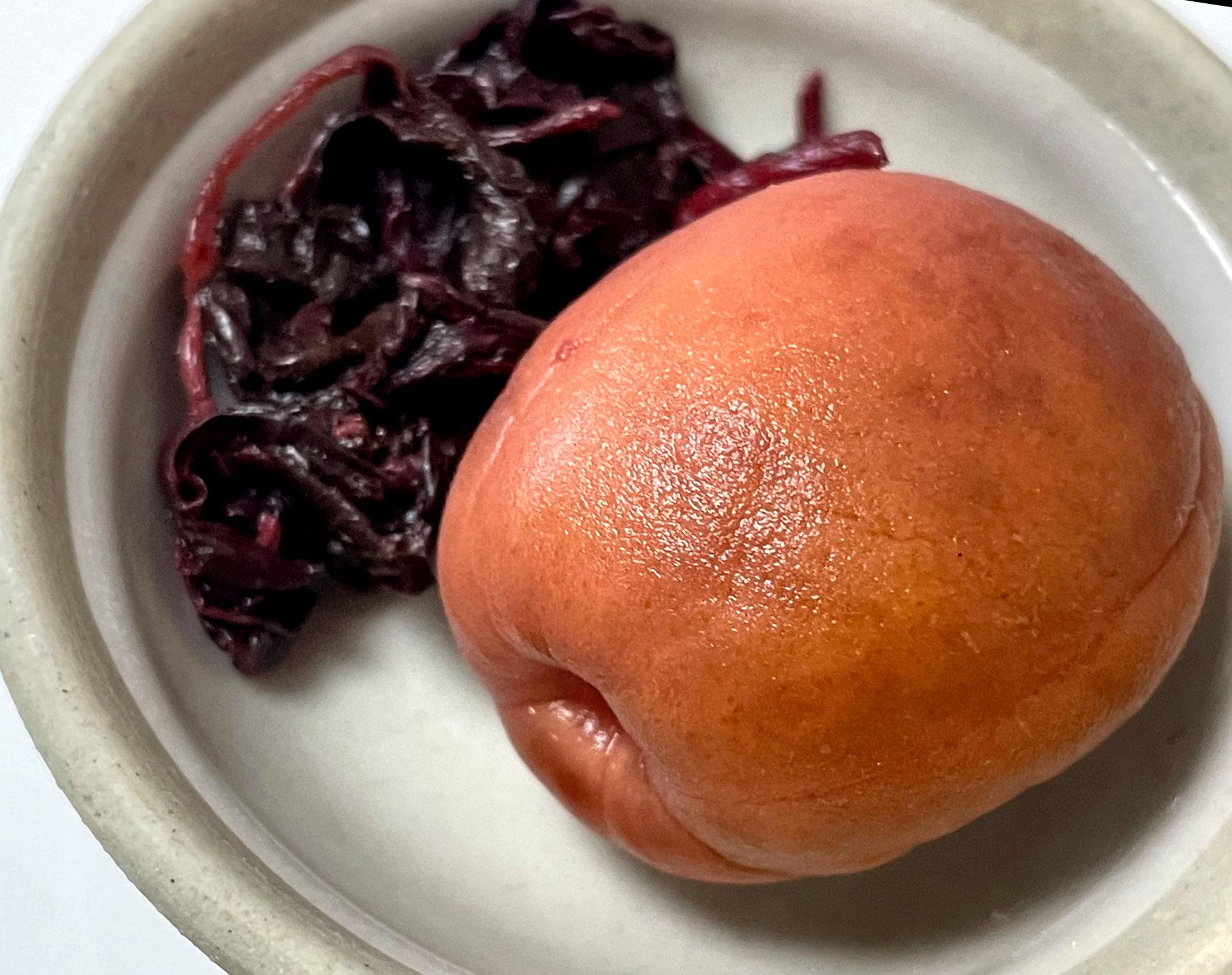 初めて作ったカリカリ梅が大変美味しく出来た件