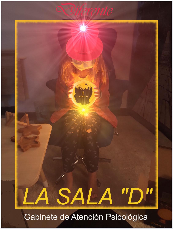 """La Sala """"D""""; Atención Psicológica en Nefer Ceramistas, dentro del espacio: """"La Casa del Artista en Movimiento Infinito""""."""