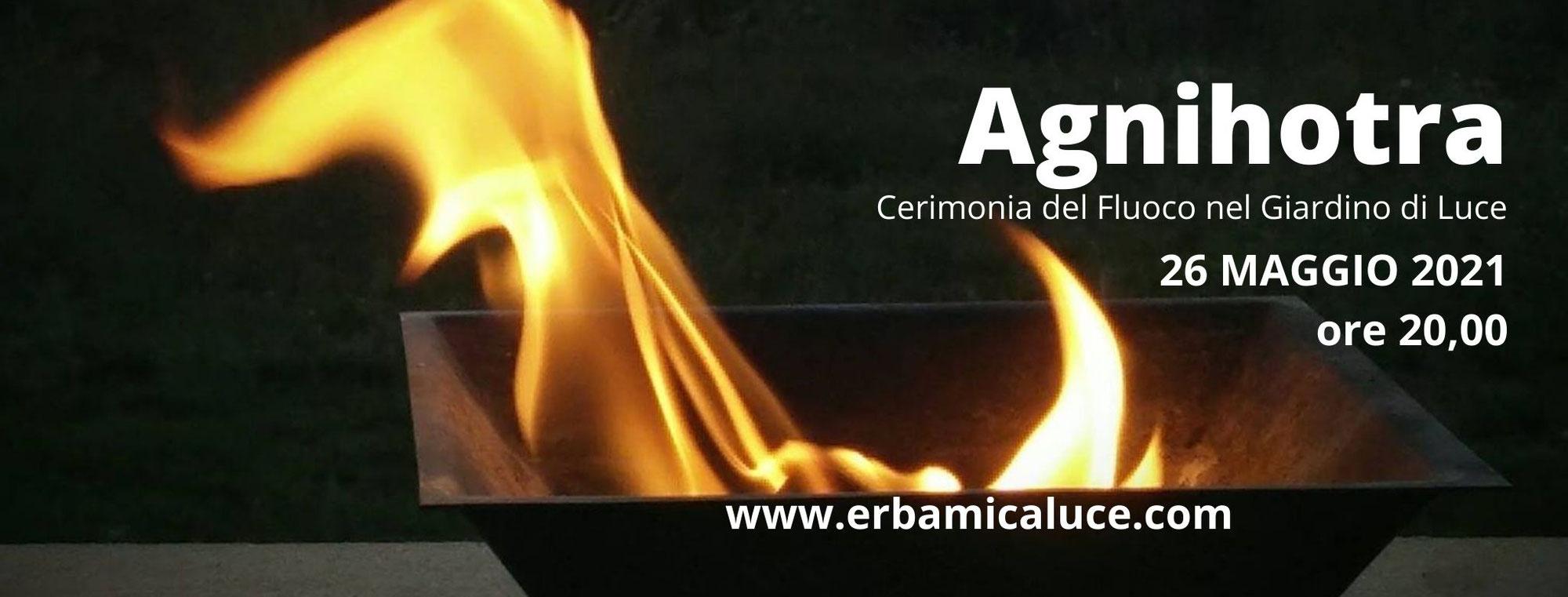 Agnihotra 2021  Cerimonia del fuoco