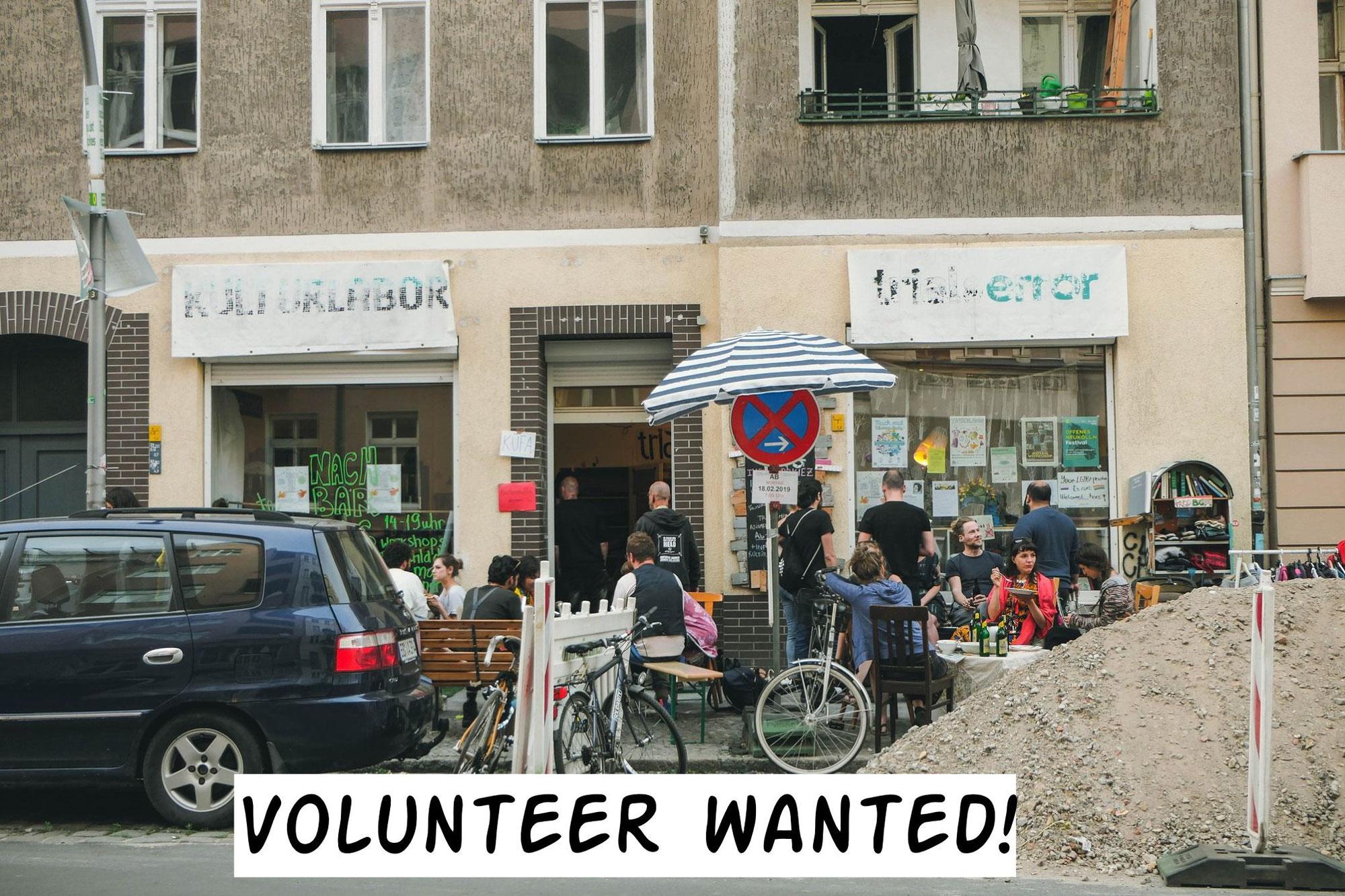 Volunteer wanted!