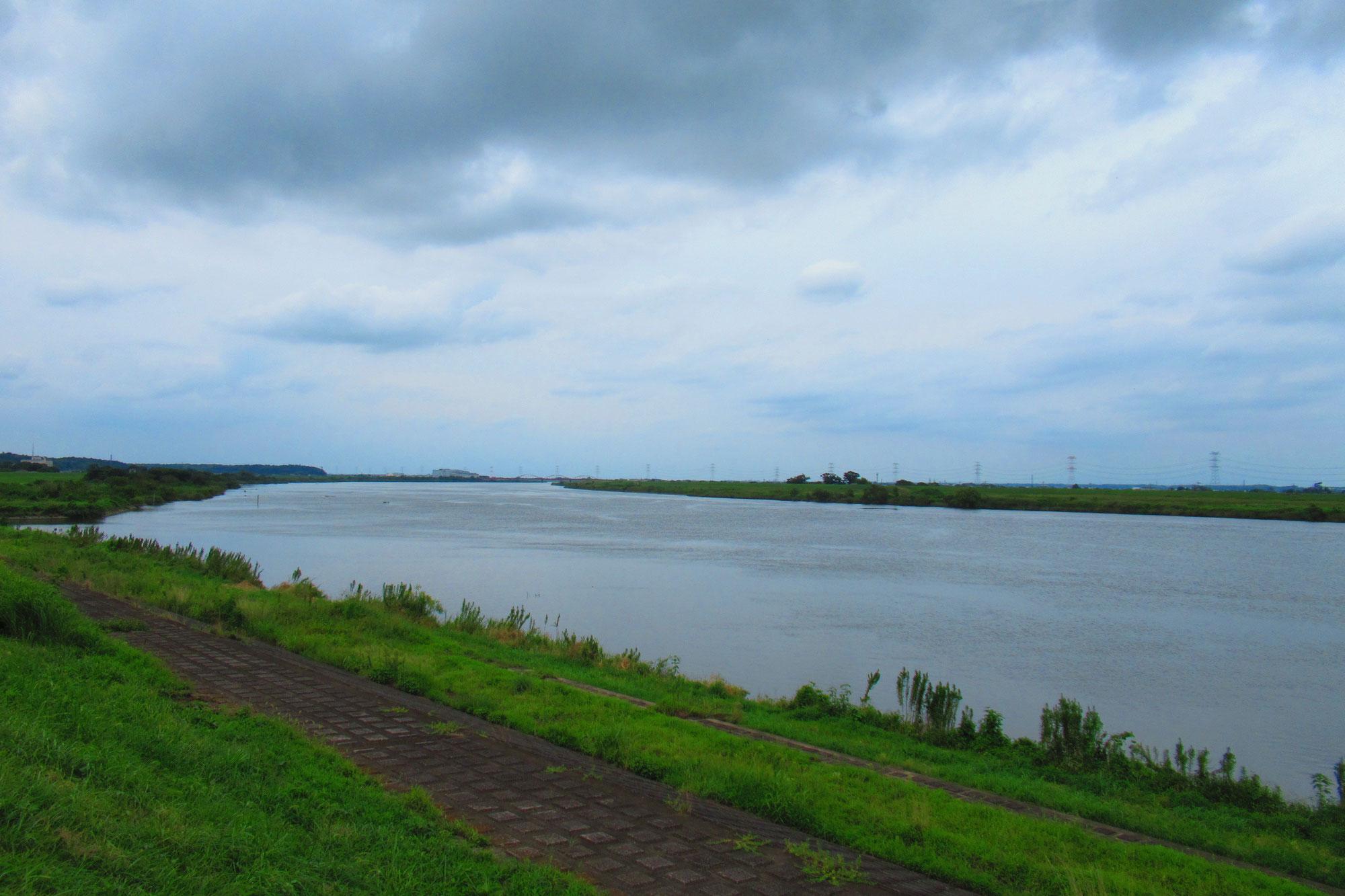 ゆく河の…