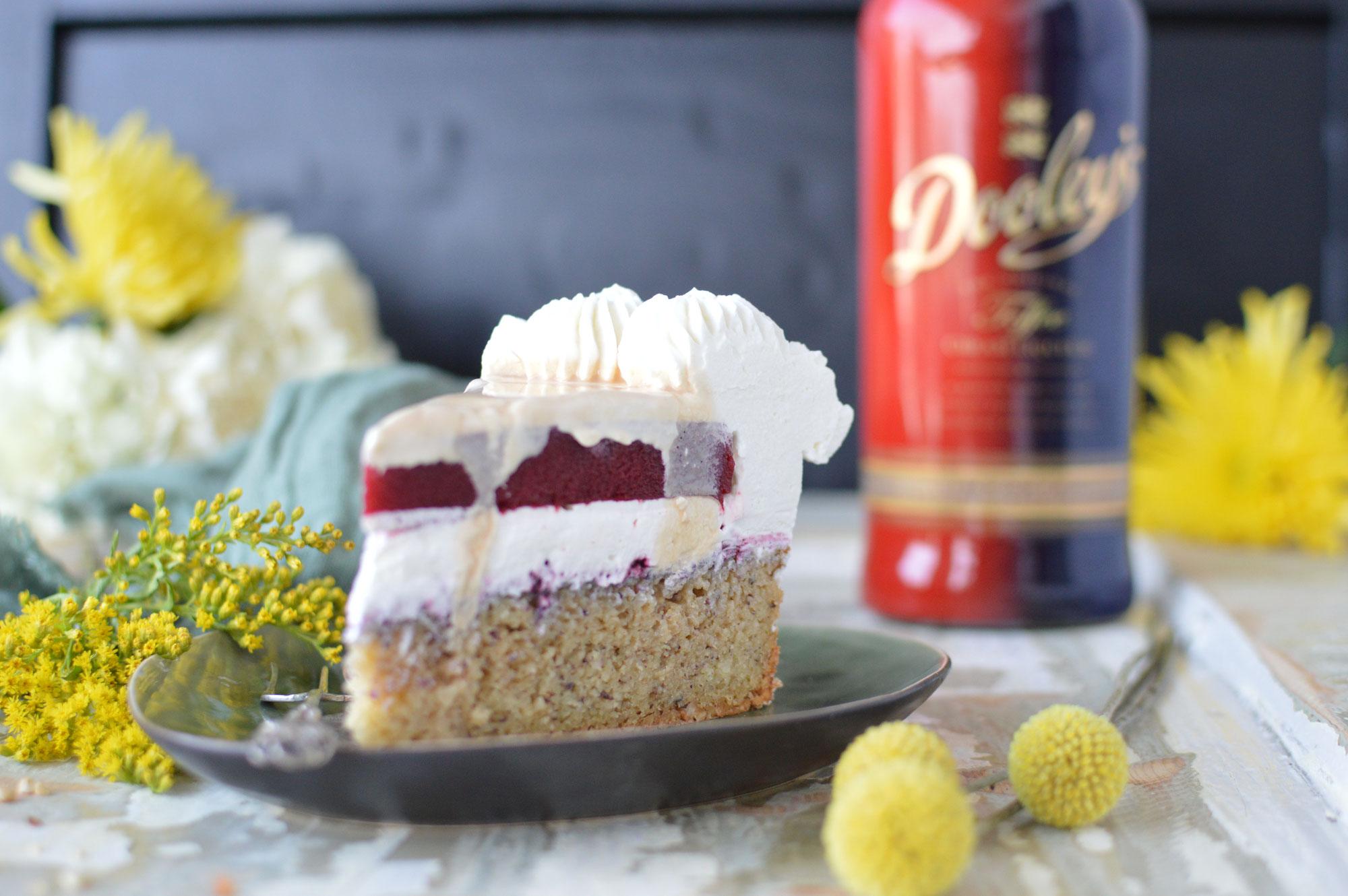 Toffee Cream Liqueur-Torte