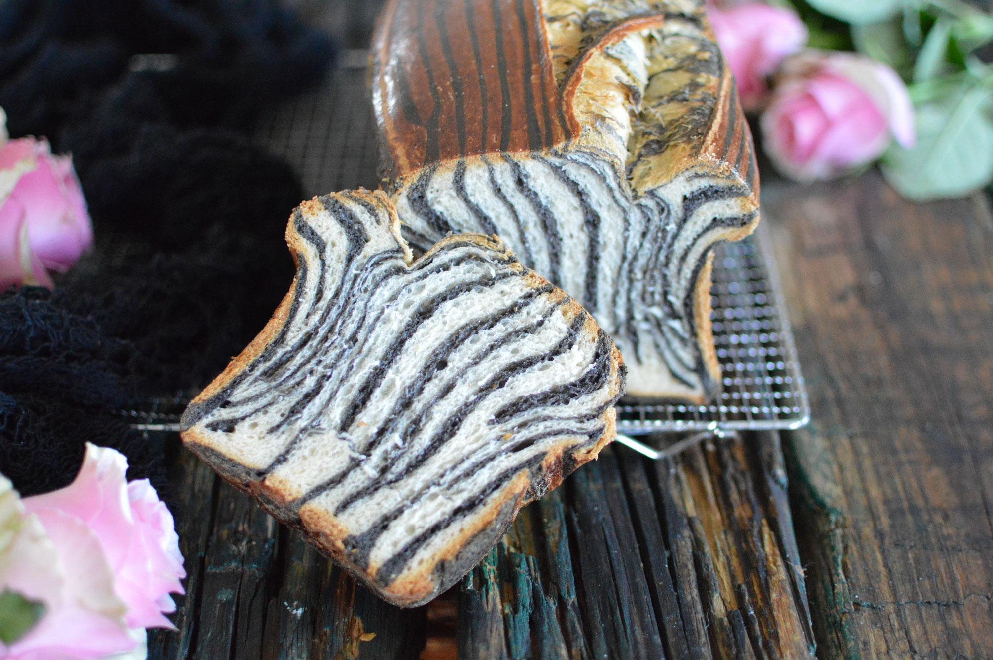 Zebra Brot