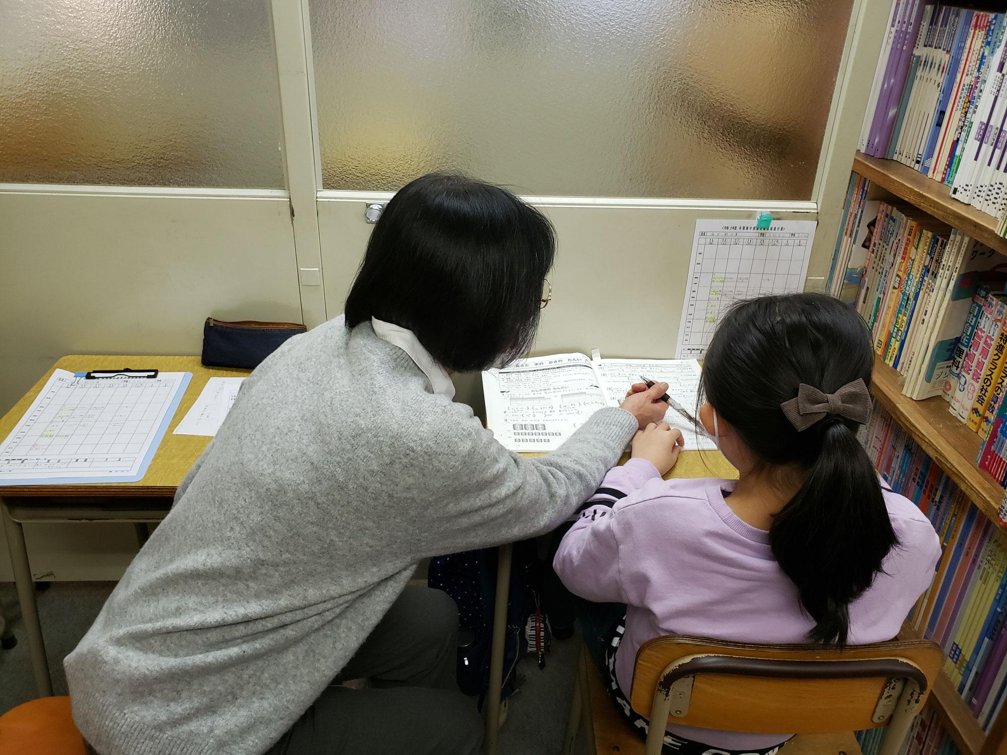 冬期講習前半3日目、各生徒自分の勉強のペースがつかめてきたようです。「学ぶ技術」が身につきます